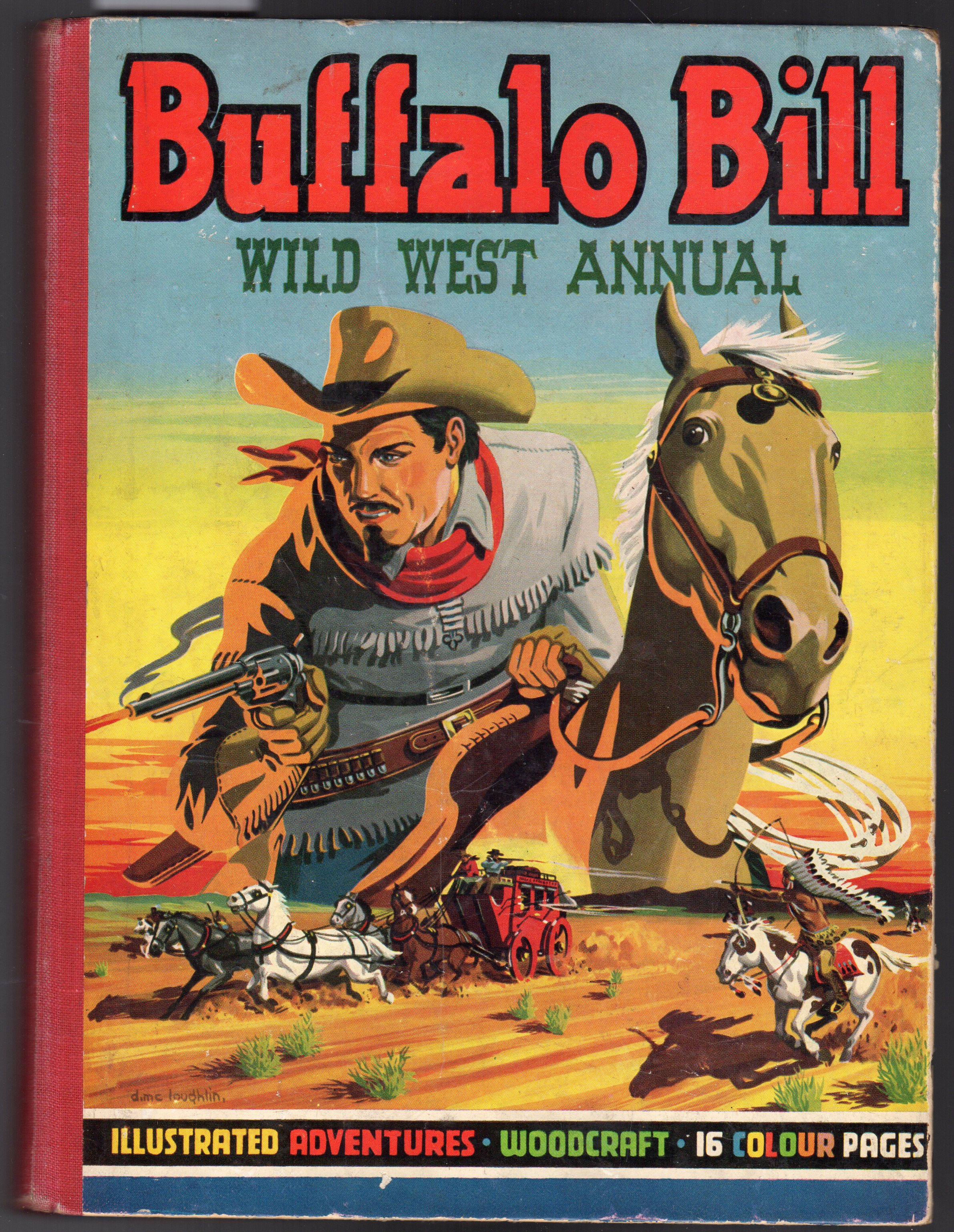 Image for Buffalo Bill Wild West Annual 1950