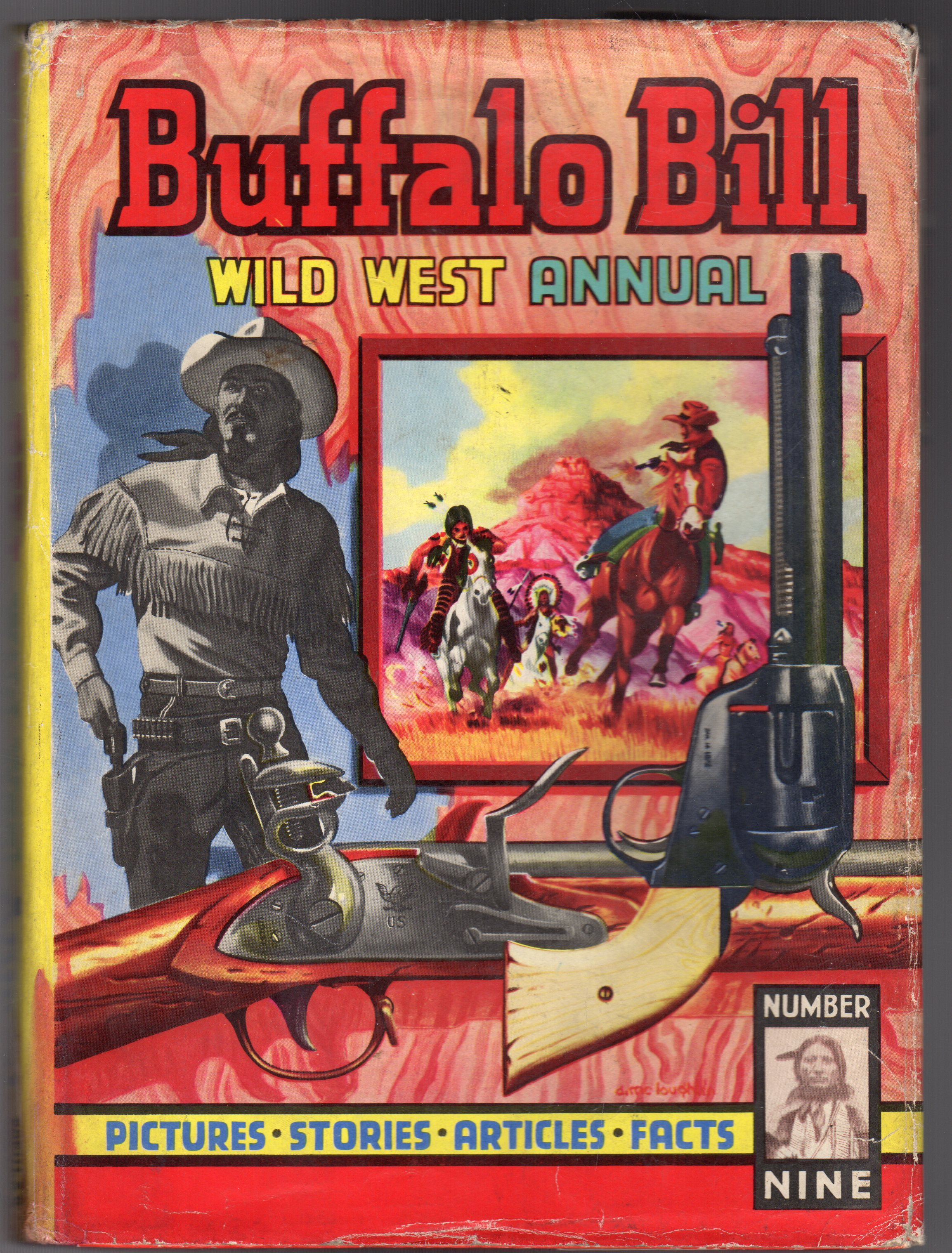 Image for Buffalo Bill Wild West Annual No 9