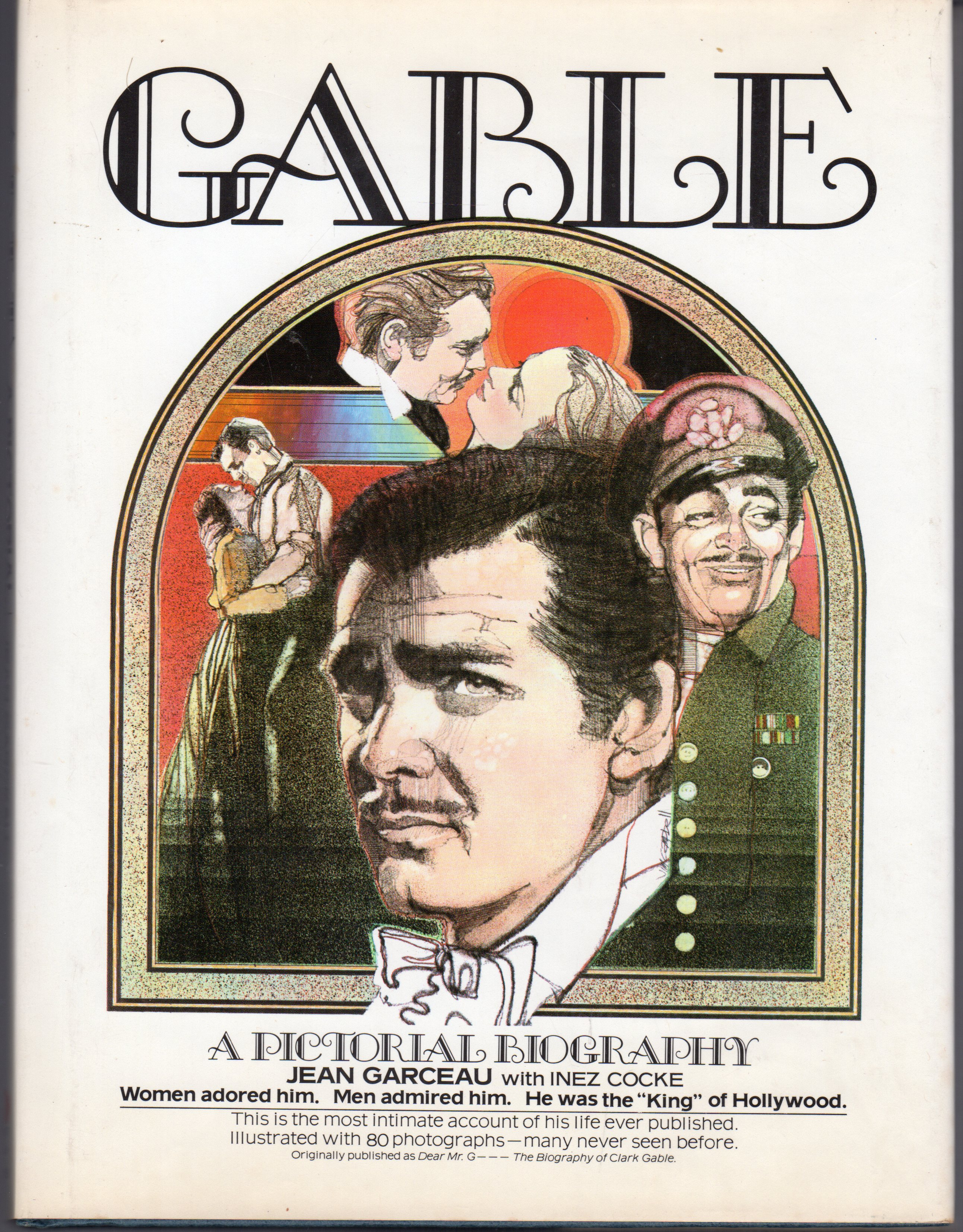 Image for Gable - A Pictorial Biography
