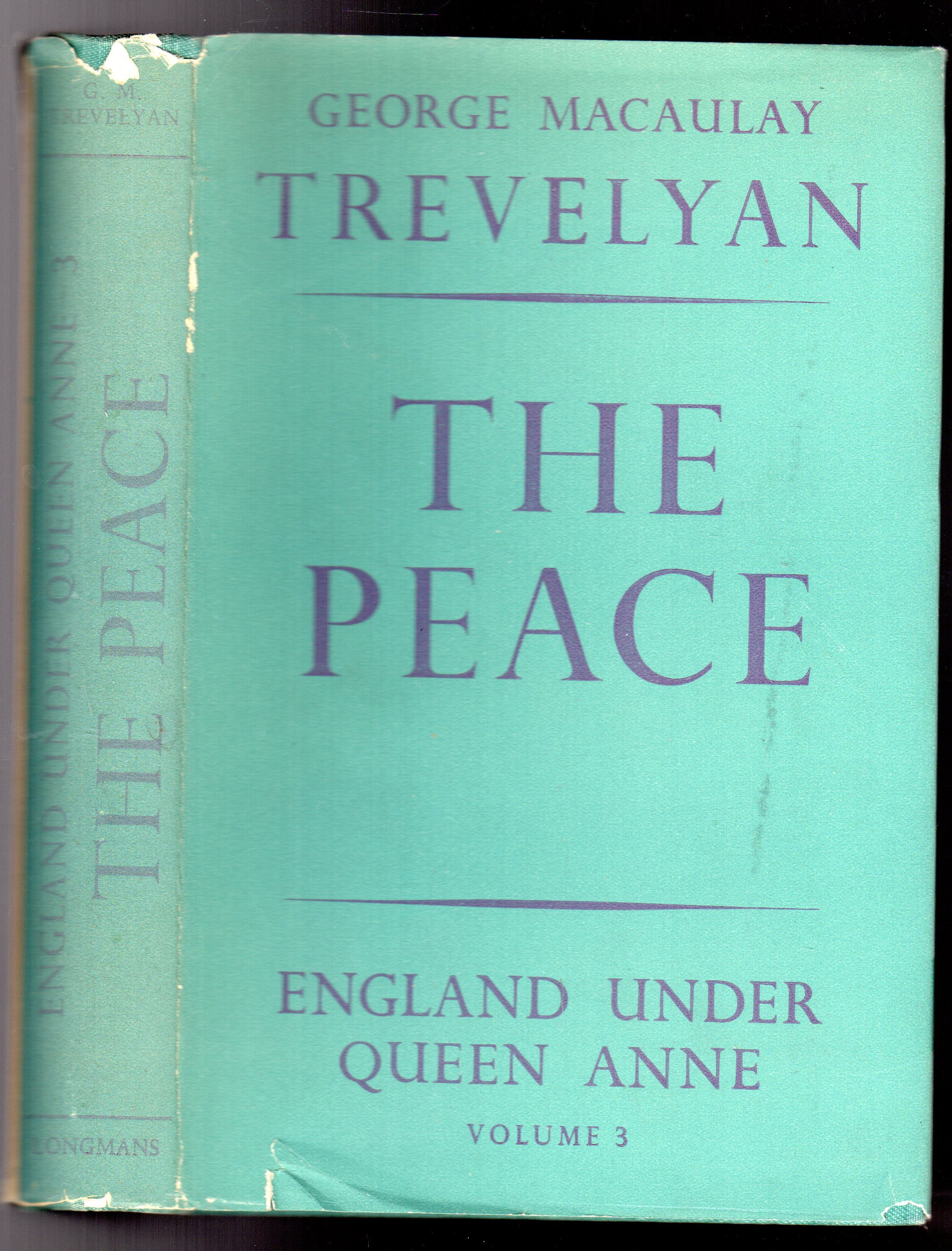 Image for The Peace and the Protestant Succession : Volume 3