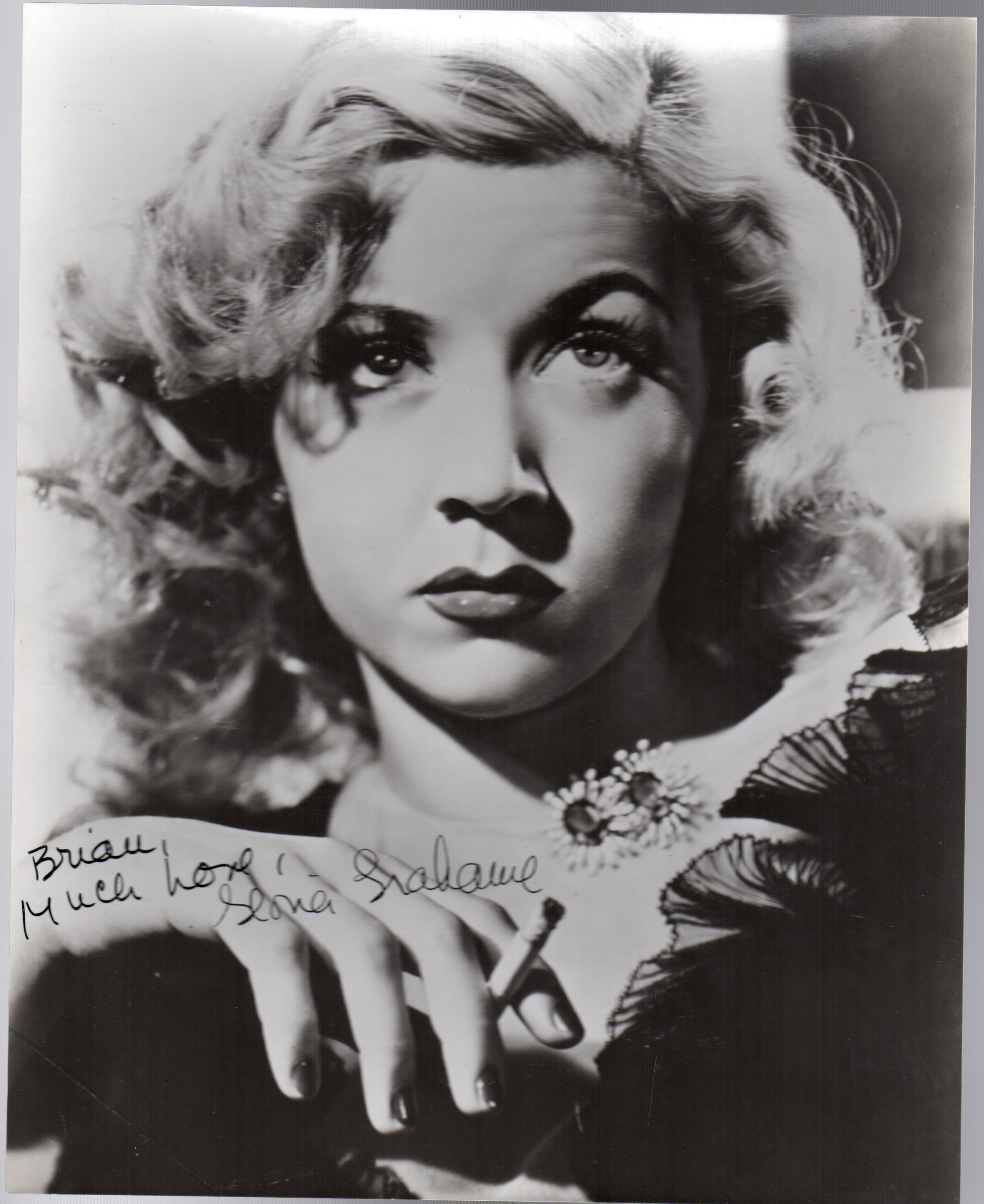 Image for Gloria Grahame -  SIGNED PHOTOGRAPH