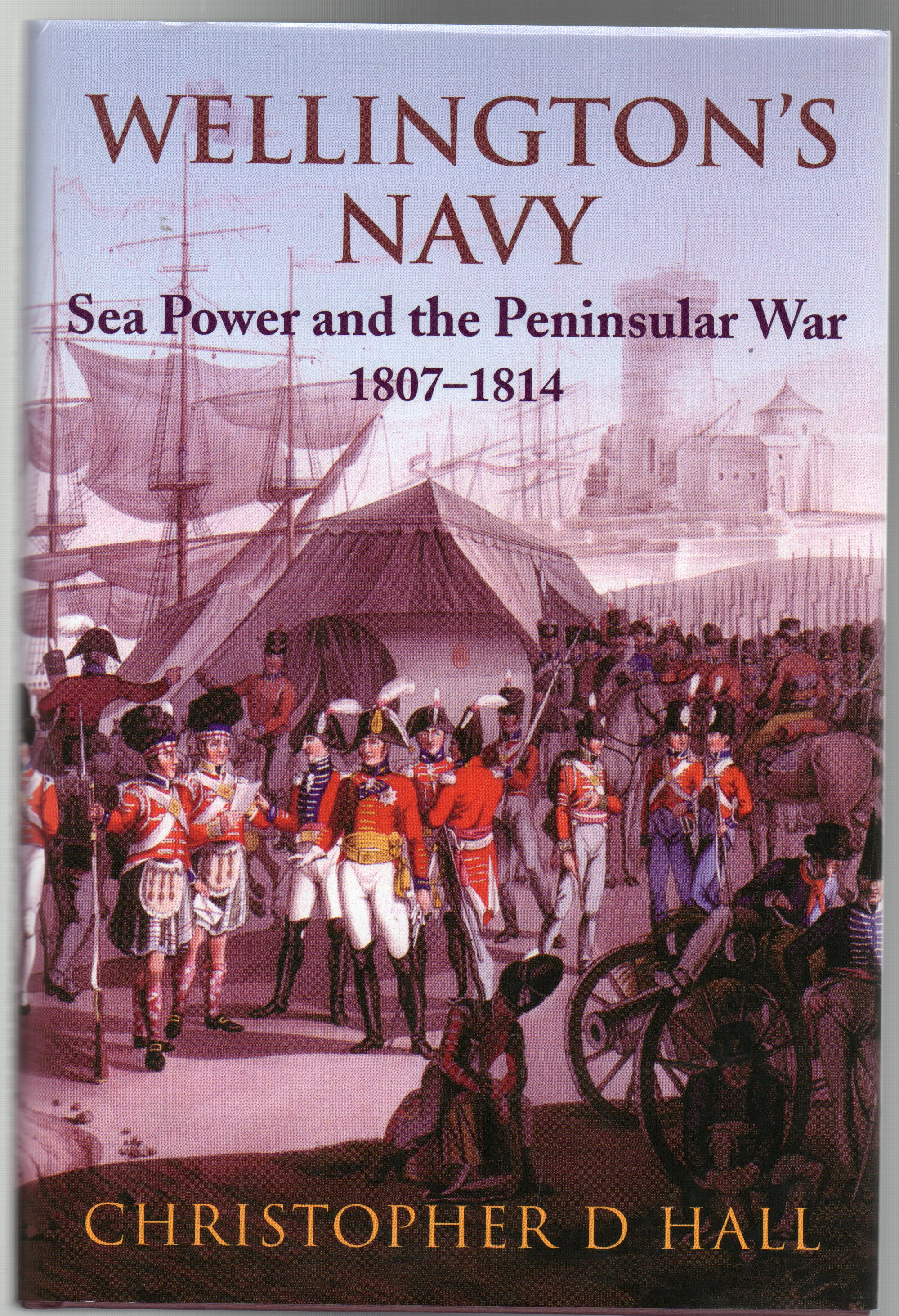 Image for Wellington's Navy : Sea Power and the Pensinsular War 1807-1814