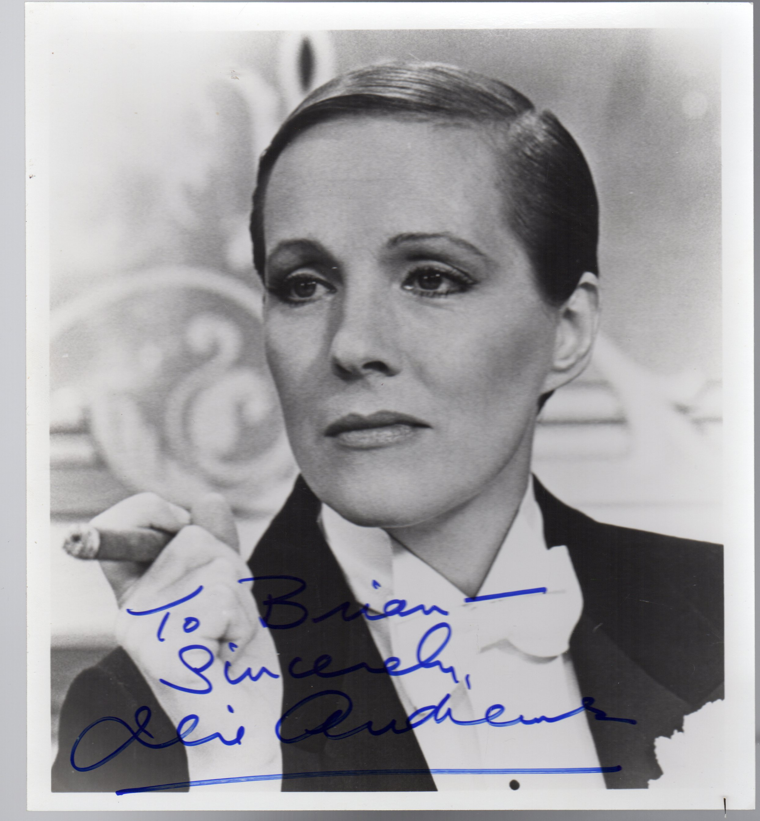 Image for Julie Andrews in Victor Victoria  SIGNED PHOTOGRAPH