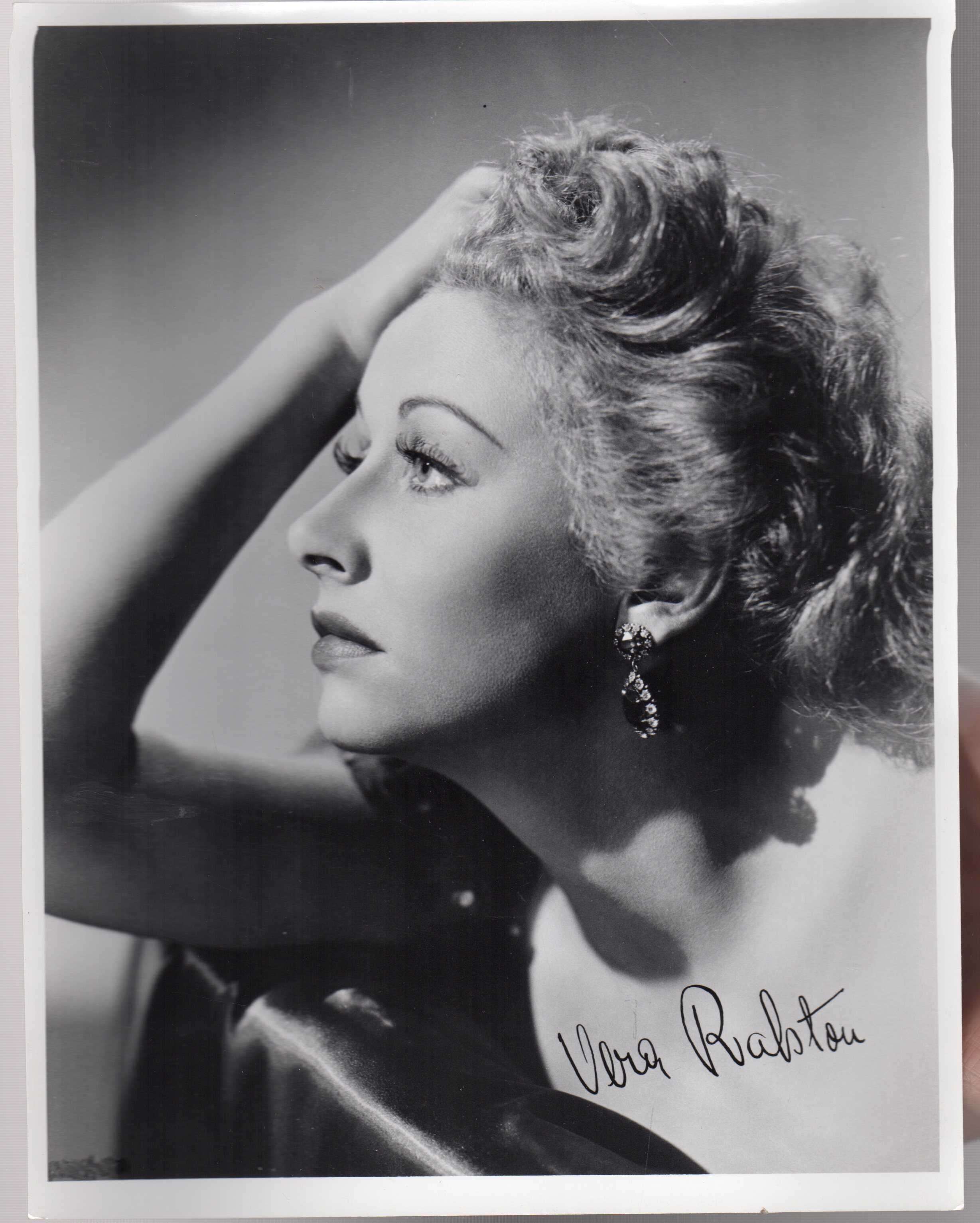 Image for Vera Ralston -  SIGNED PHOTOGRAPH