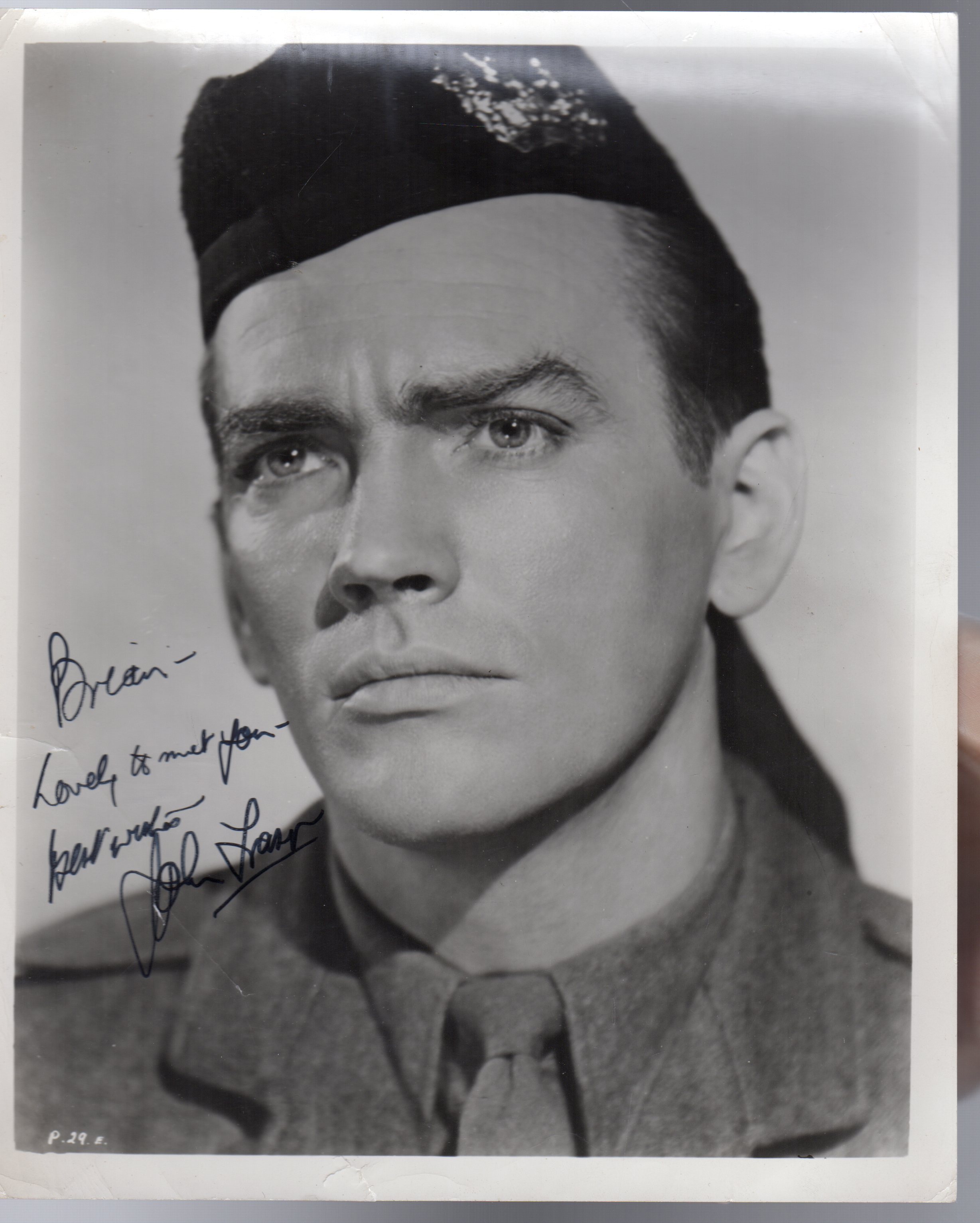 Image for John Fraser -  SIGNED PHOTOGRAPH