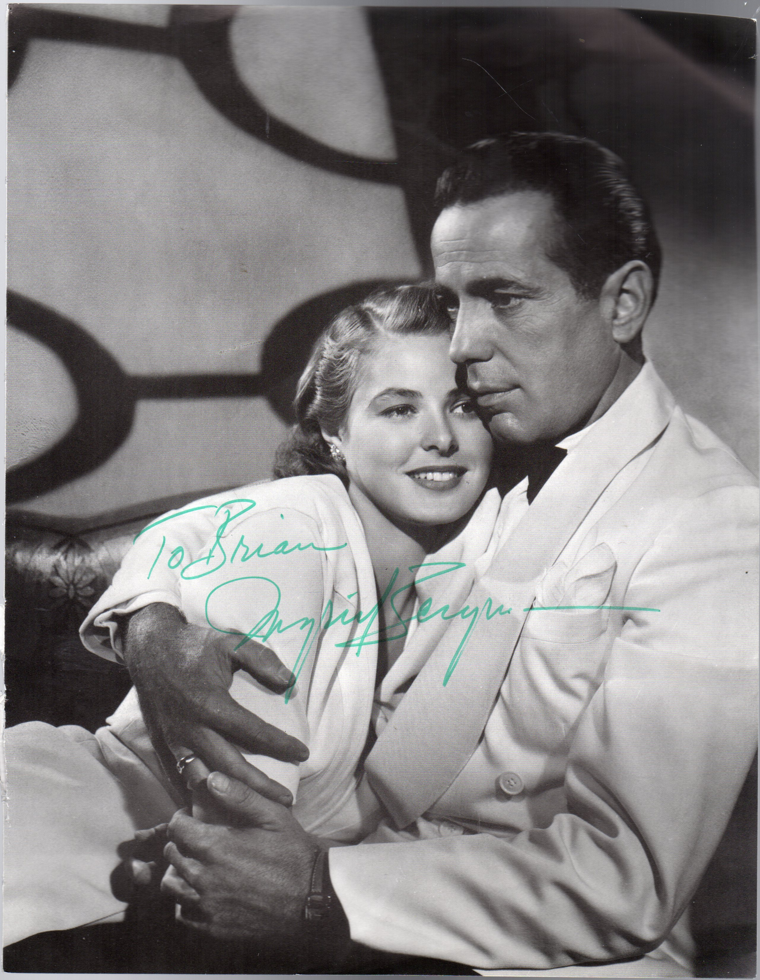 Image for Ingrid Bergman -  SIGNED Photograph Taken from a Magazine