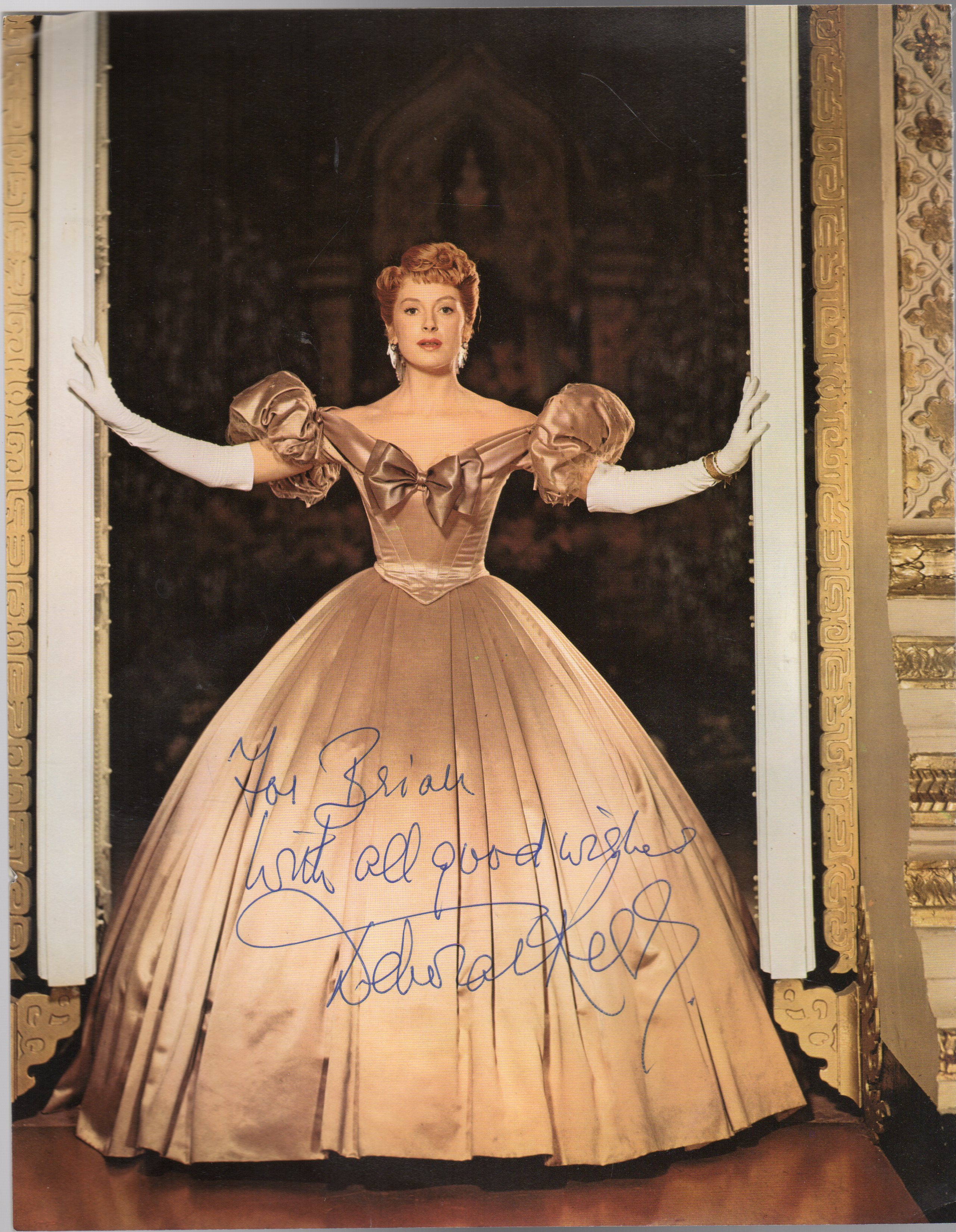 Image for Deborah Kerr -  SIGNED Photograph Taken from a Magazine