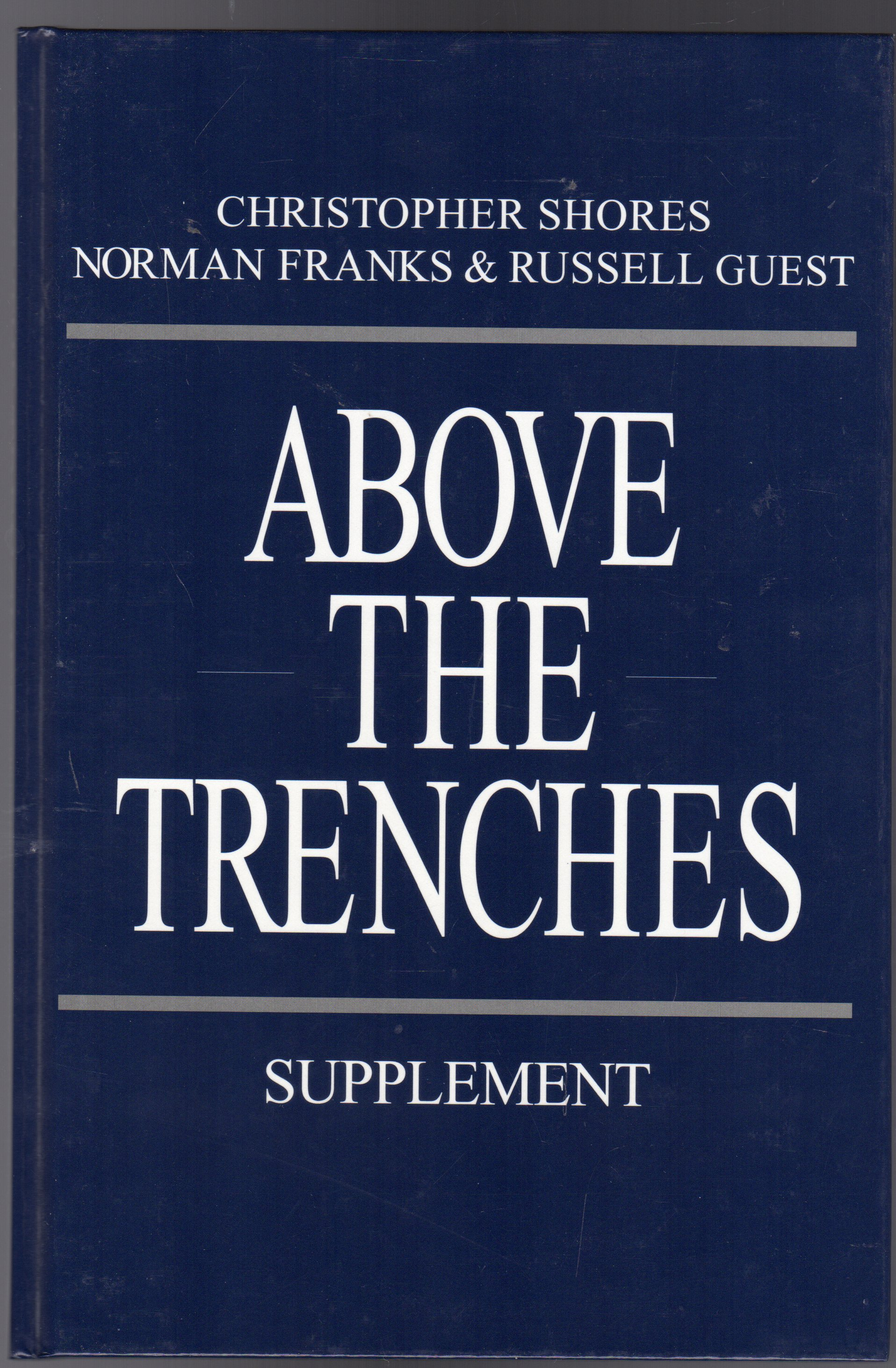 Image for Above the Trenches : Supplement