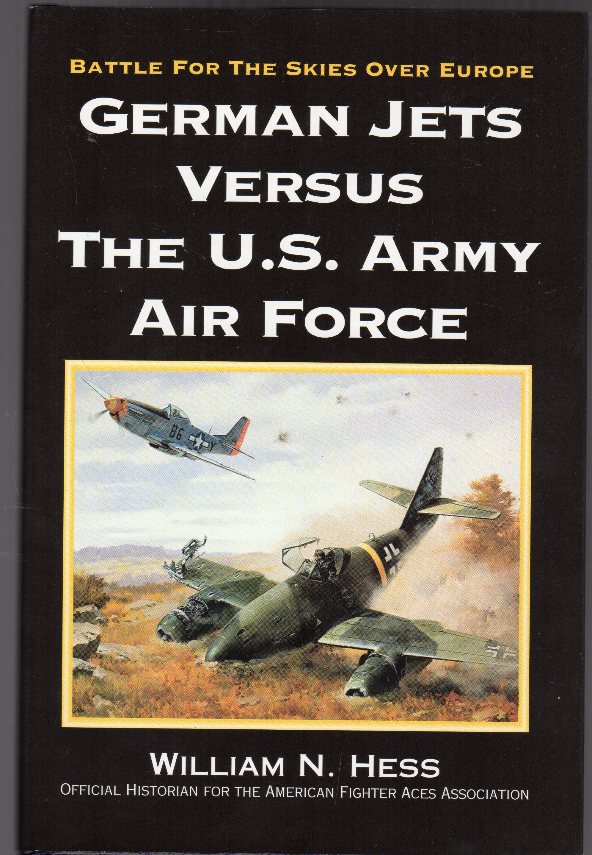 Image for German Jets Versus the US Army Air Force