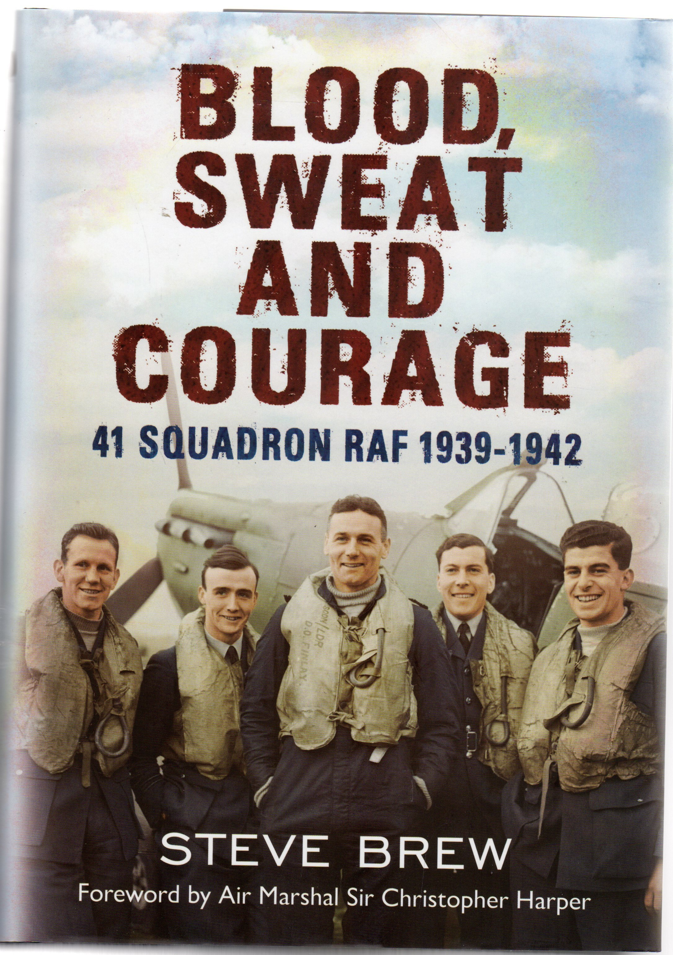 Image for Blood, Sweat and Courage, 41 Squadron RAF 1939-1942