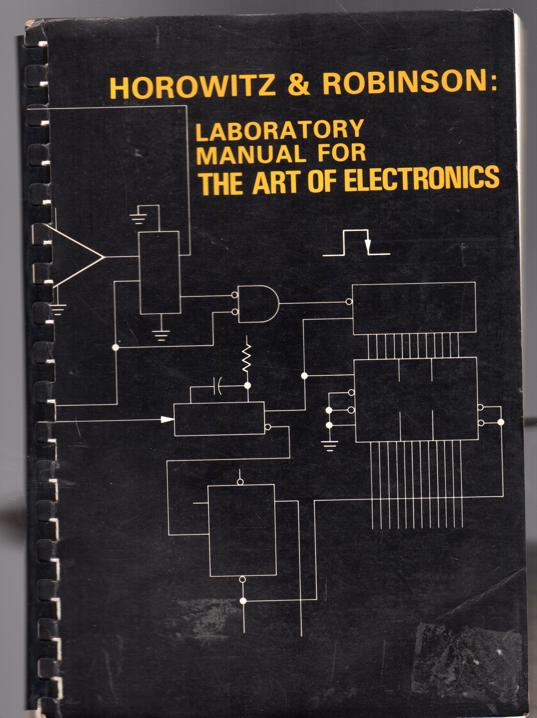 Image for Laboratory Manual for the Art of Electronics