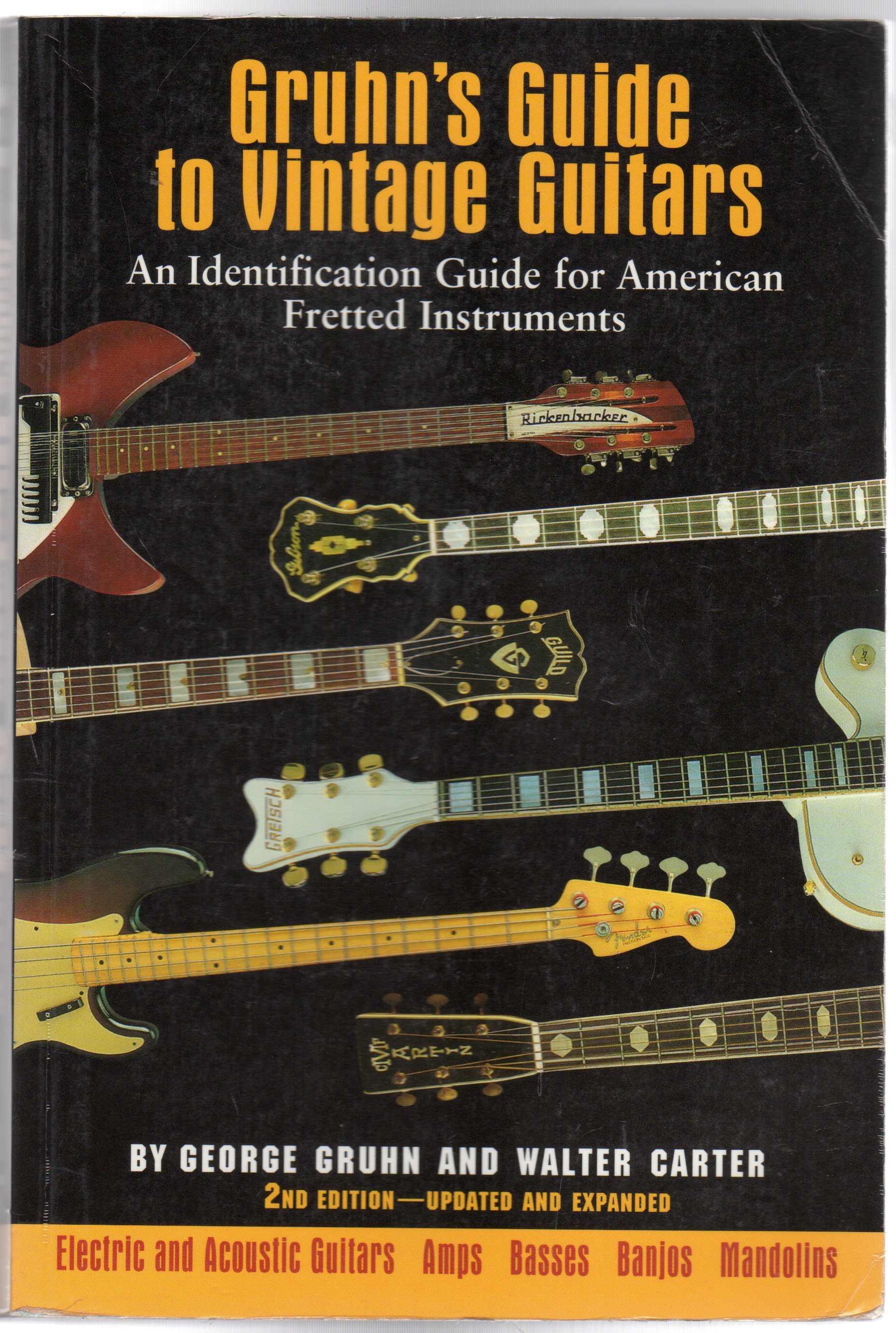Image for Gruhn's Guide to Vintage Guitars : An Identification Guide for American Fretted Instruments