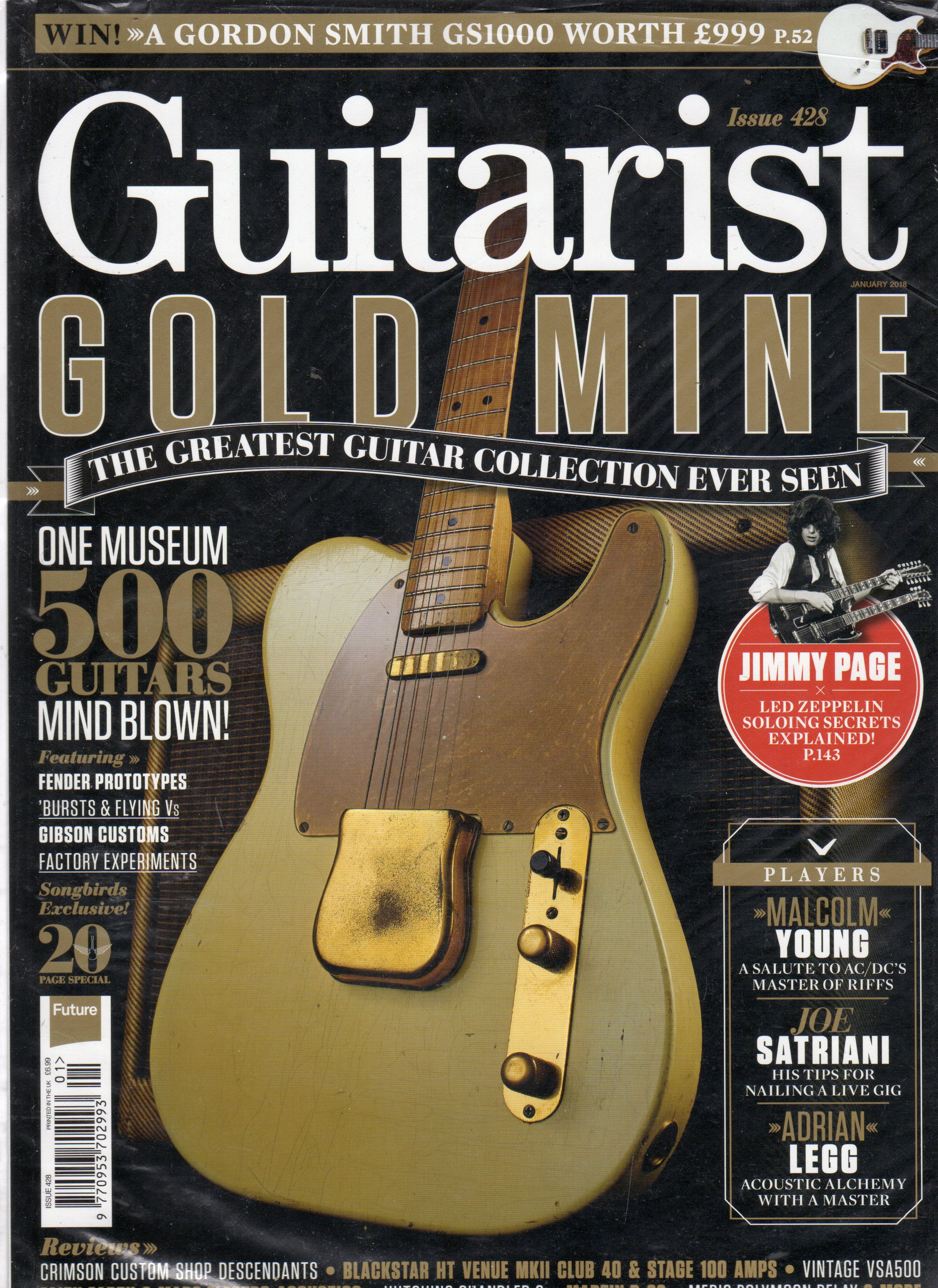 Image for Guitarist Gold Mine : Issue 428