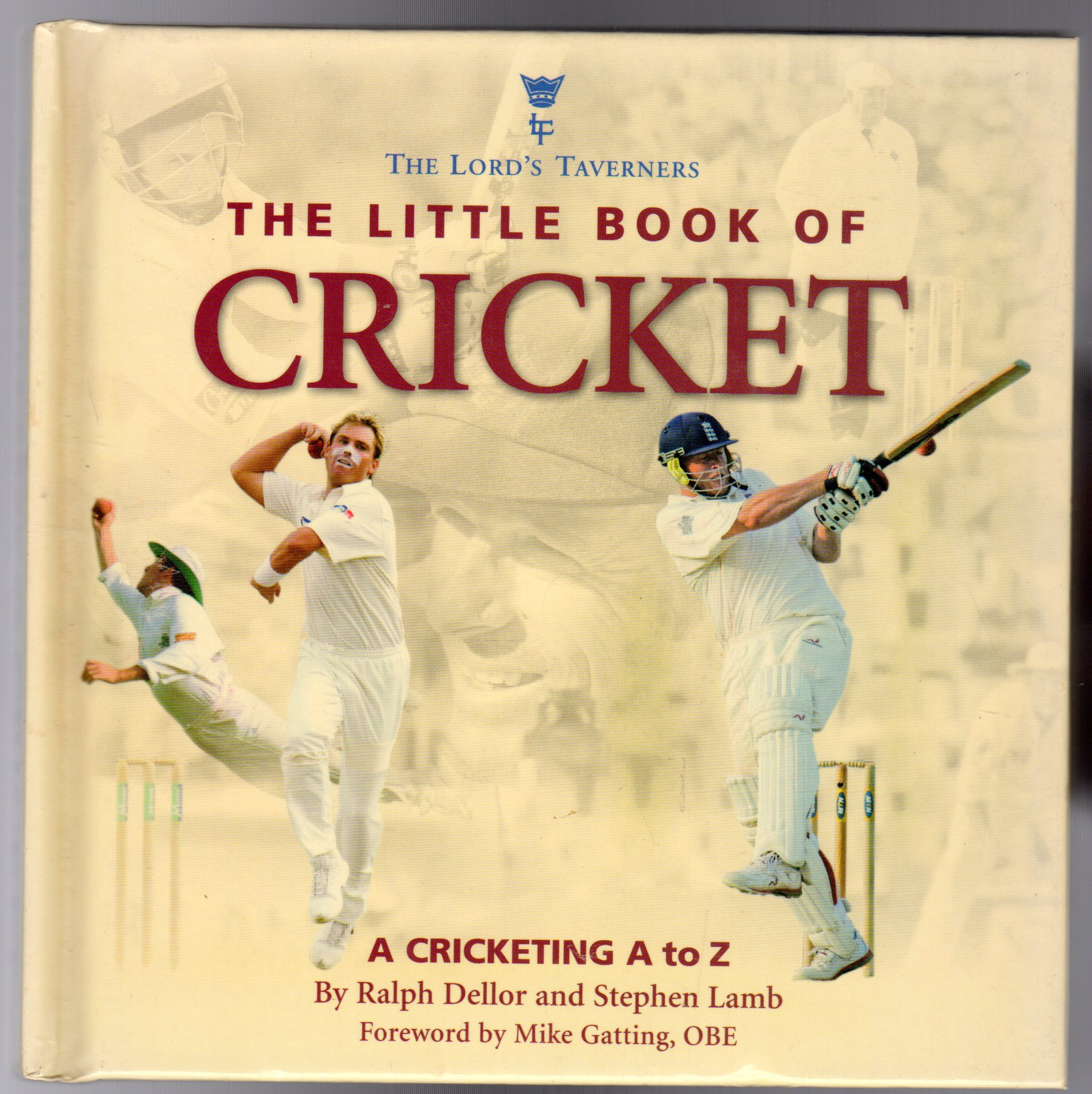 Image for Little Book of Cricket : A Cricketing A to Z (SIGNED COPY)