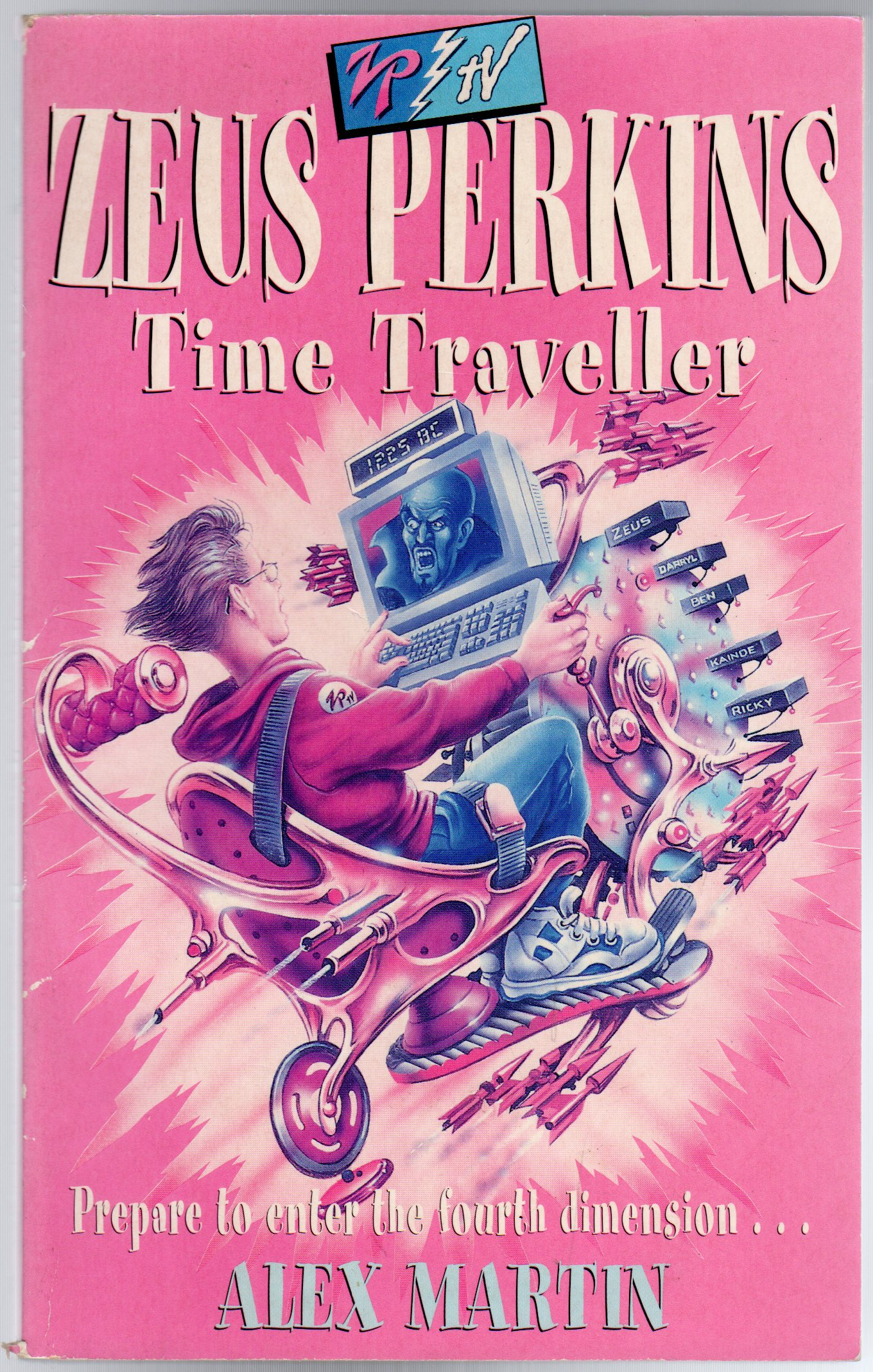 Image for Zeus Perkins Time Traveller (SIGNED COPY)