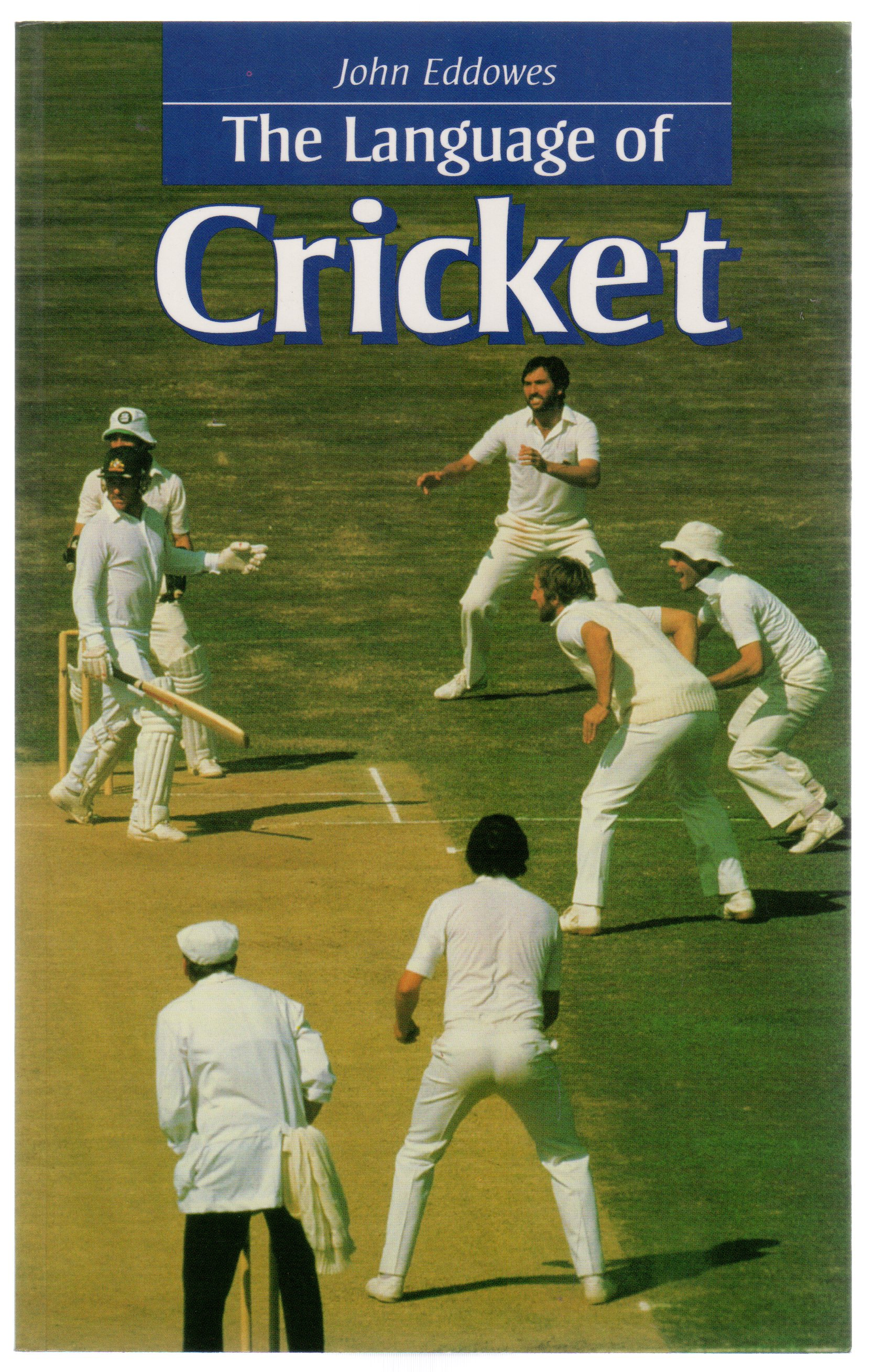 Image for The Language of Cricket (SIGNED COPY)