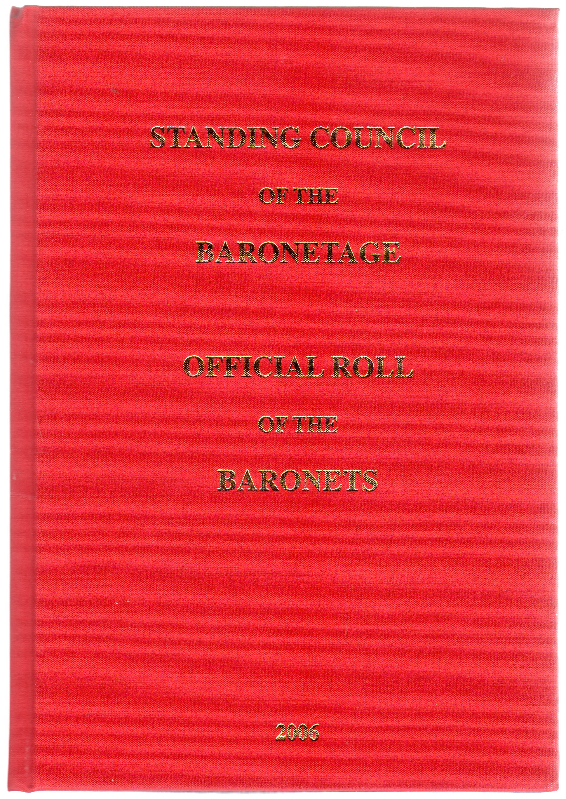 Image for Official Roll of the Baronets : As Authorized By Royal Warrant
