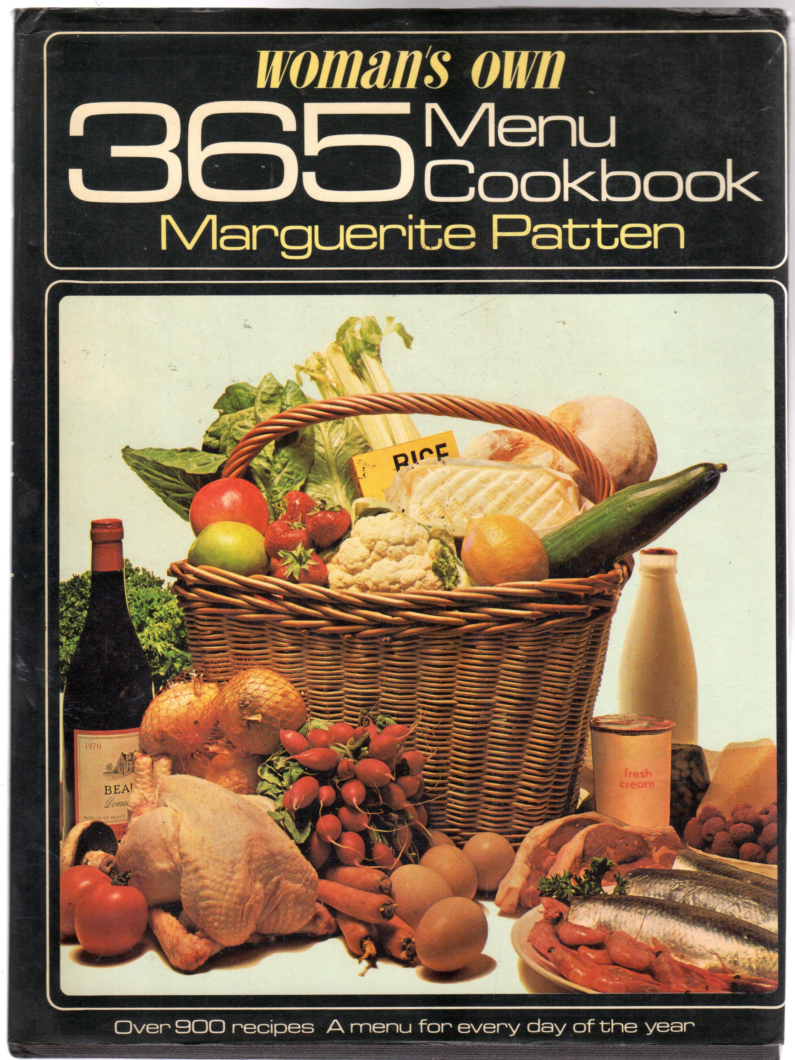 Image for Woman's Own 365 Menu Cookbook