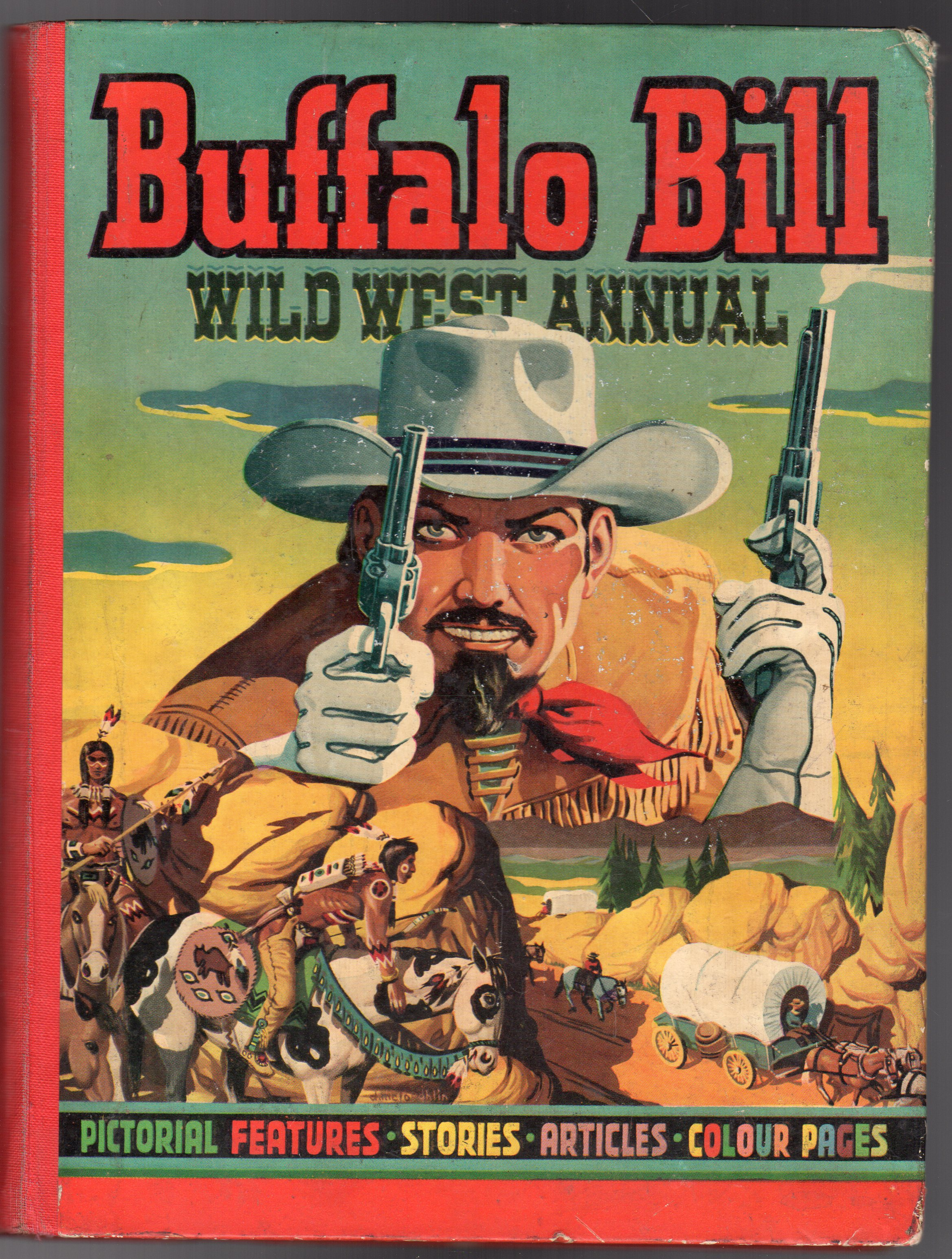 Image for Buffalo Bill Wild West Annual 1951
