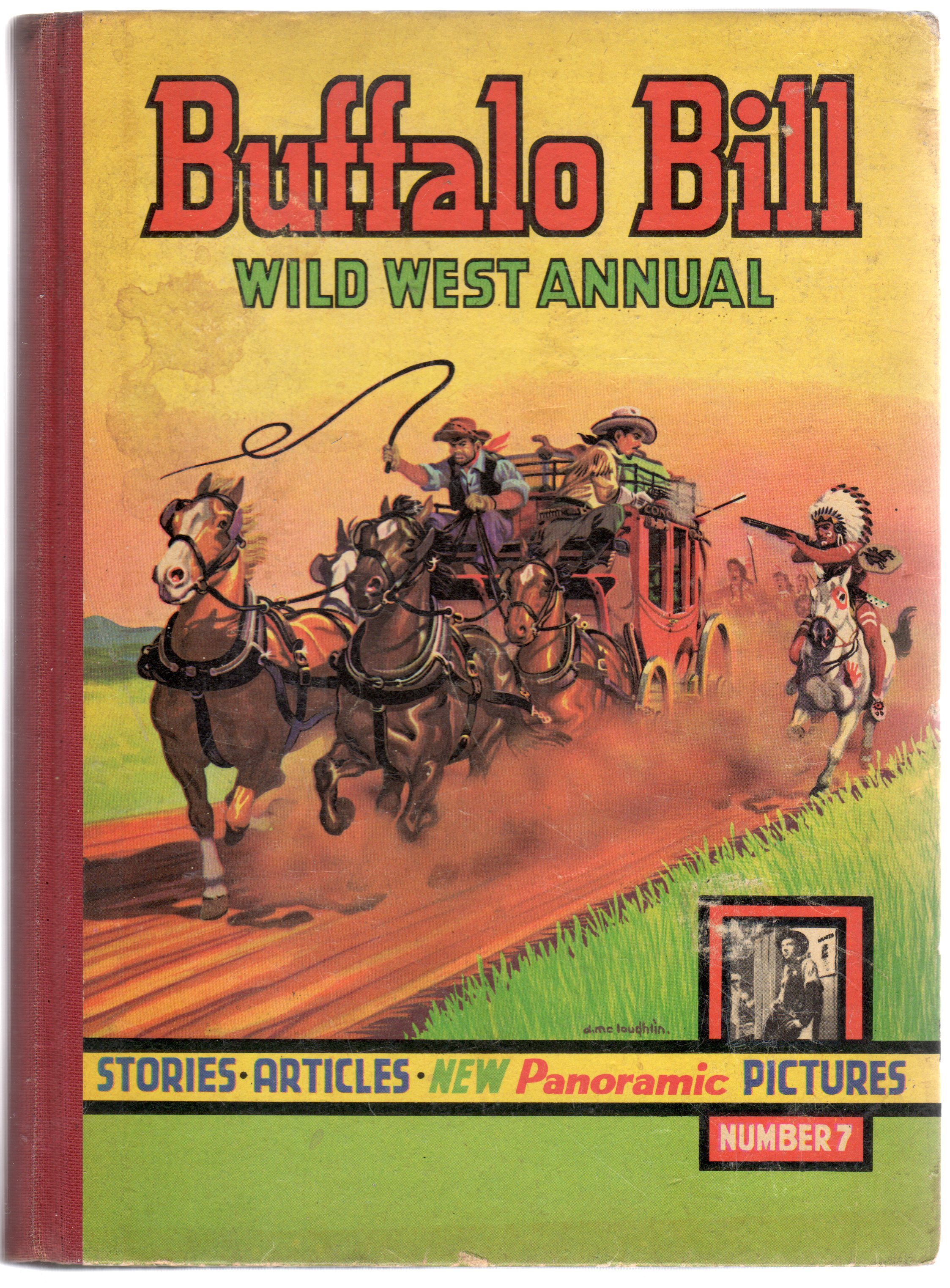 Image for Buffalo Bill Wild West Annual No 7