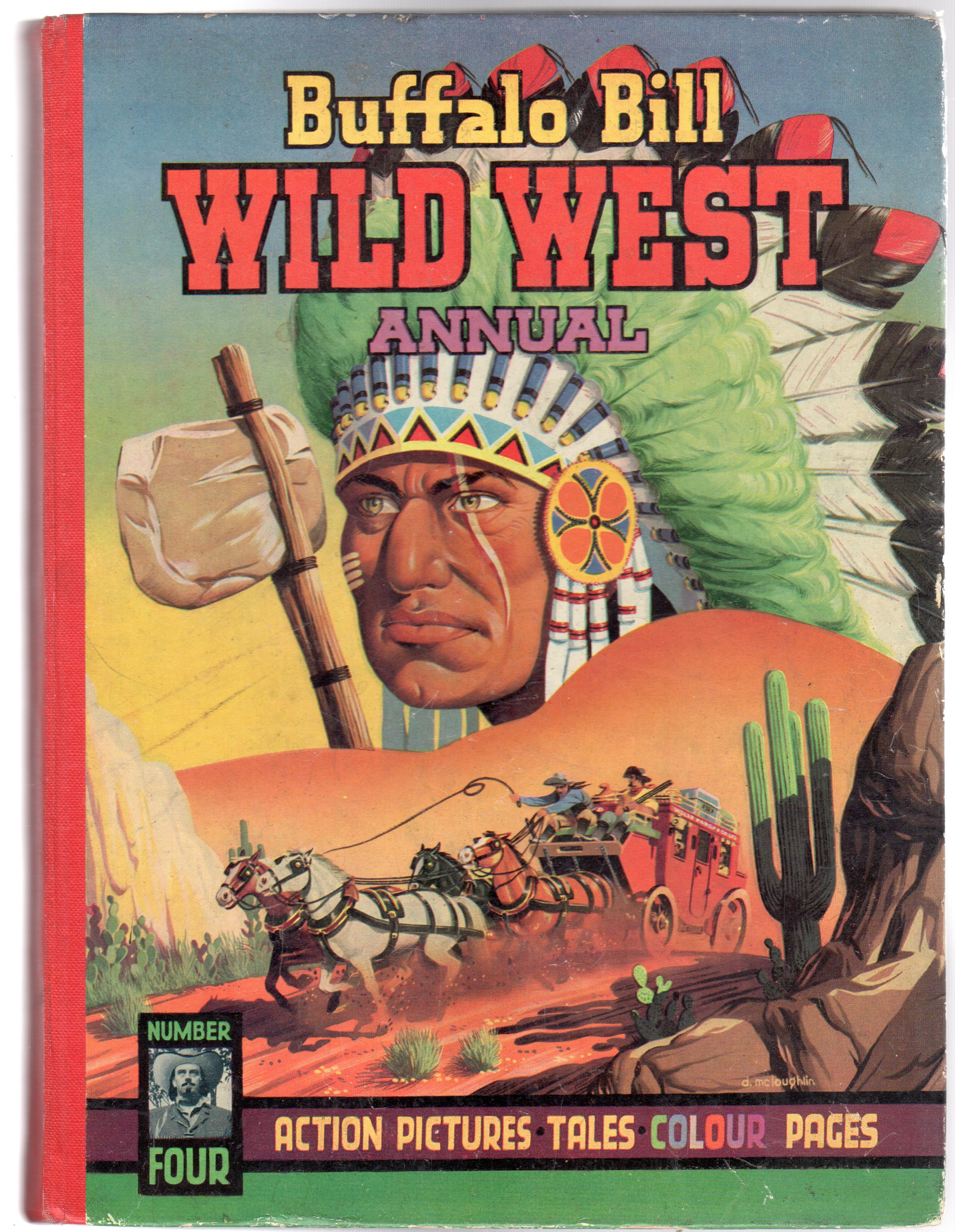 Image for Buffalo Bill Wild West Annual No 4 1952