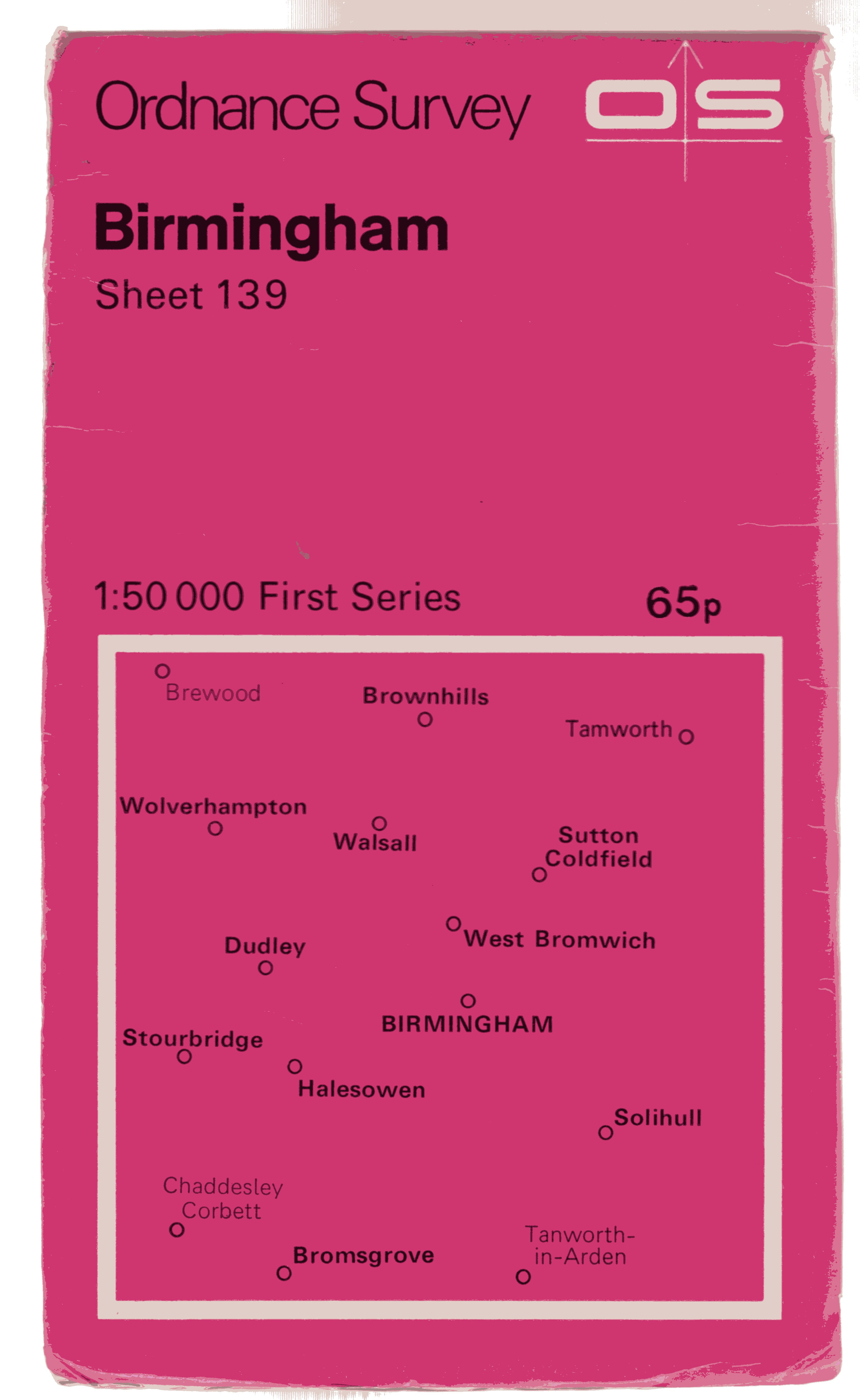 Image for Ordnance Survey Sheet 139 Birmingham