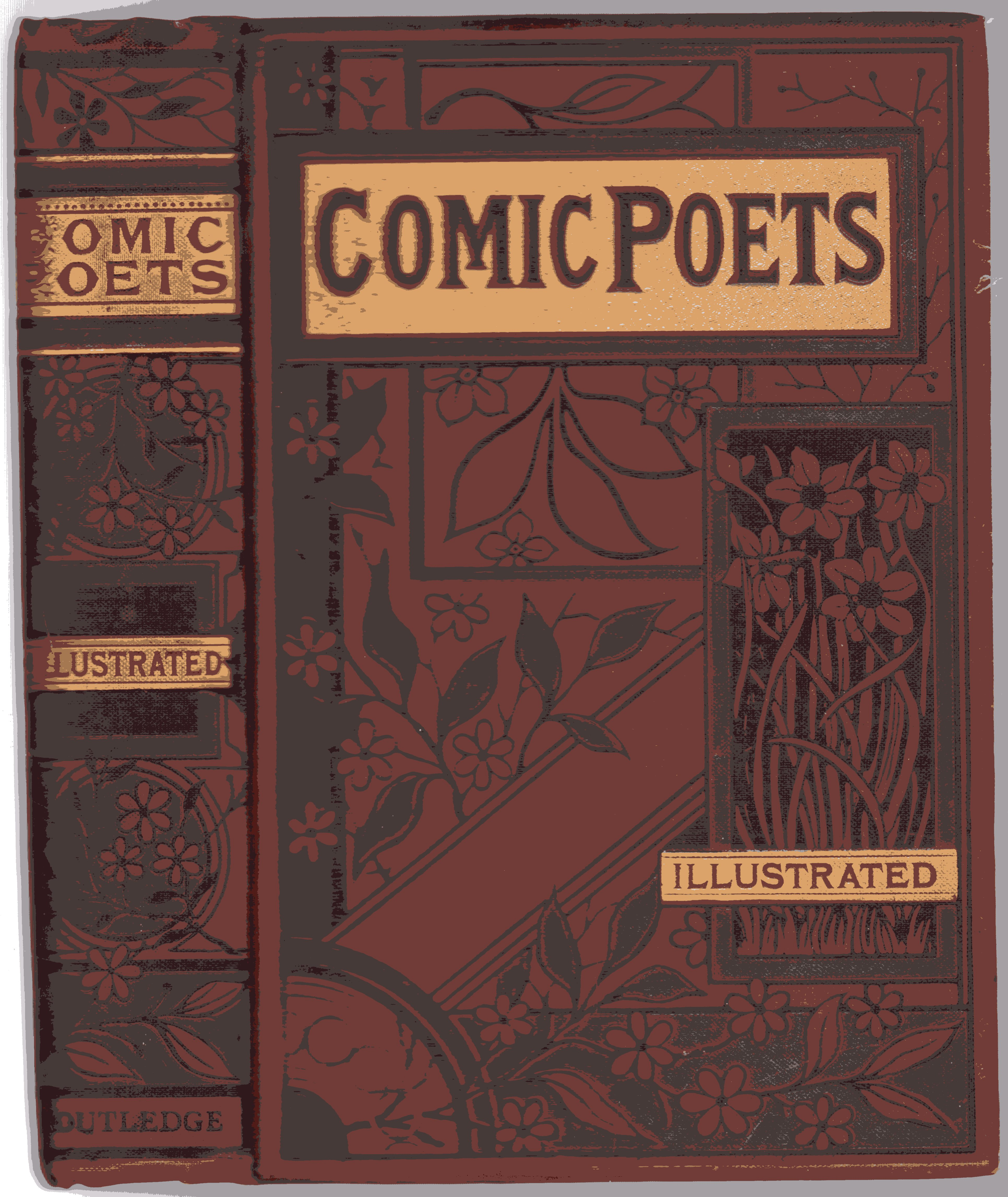 Image for The Comic Poets of the Nineteenth Century : Poems of Wit and Humour by Living Writers