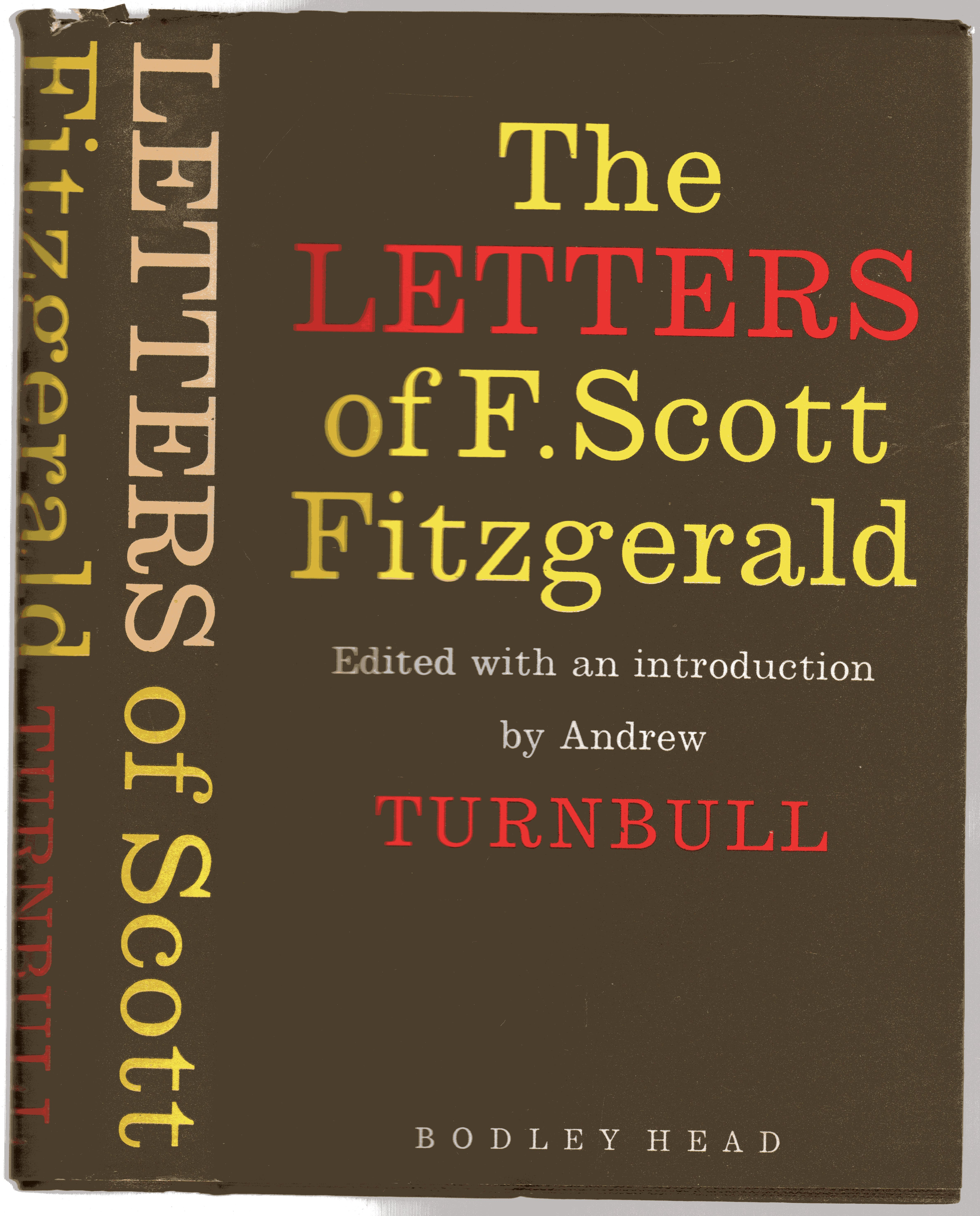 Image for The Letters of F. Scott Fitzgerald