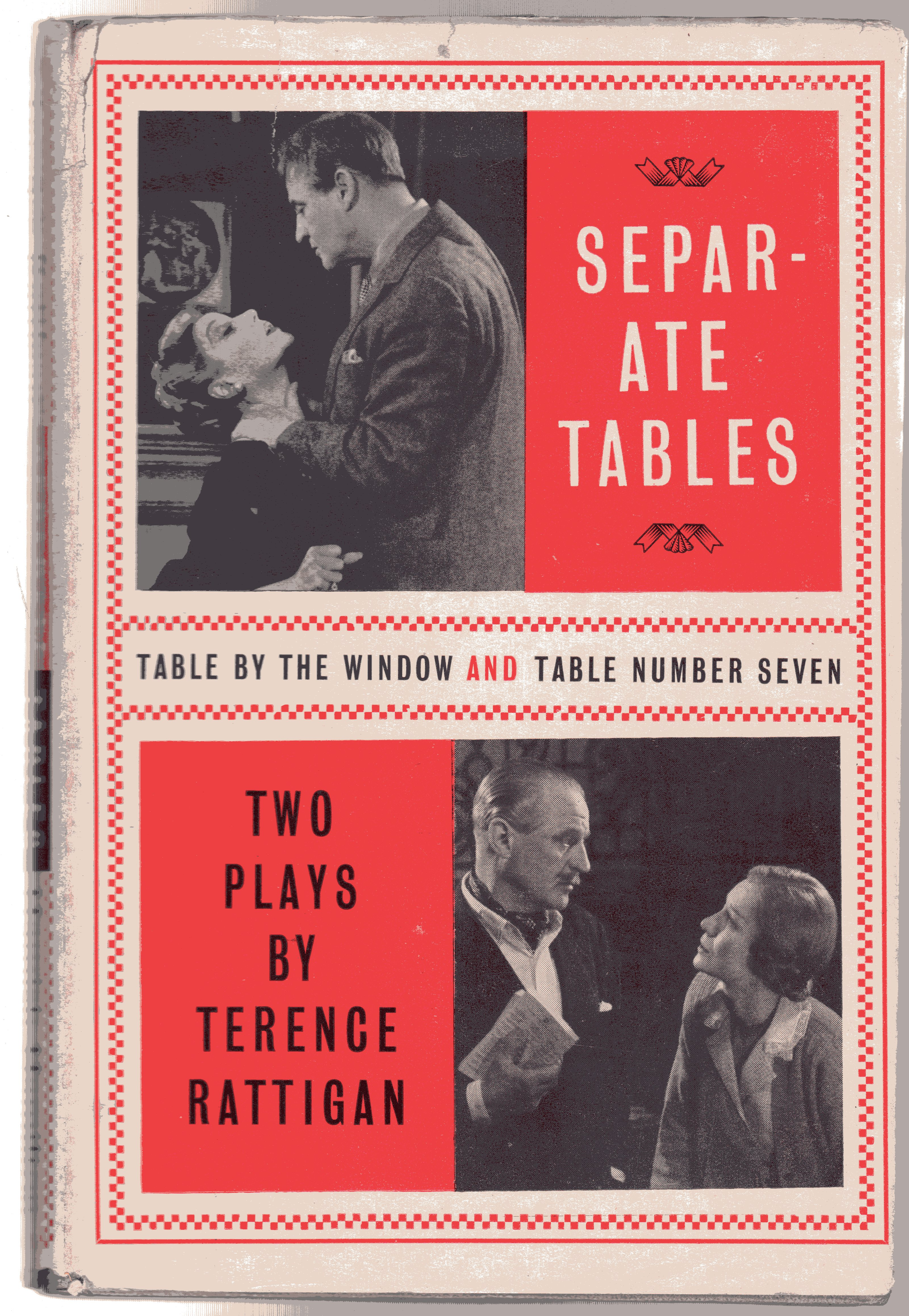 Image for Separate Tables : Two Plays