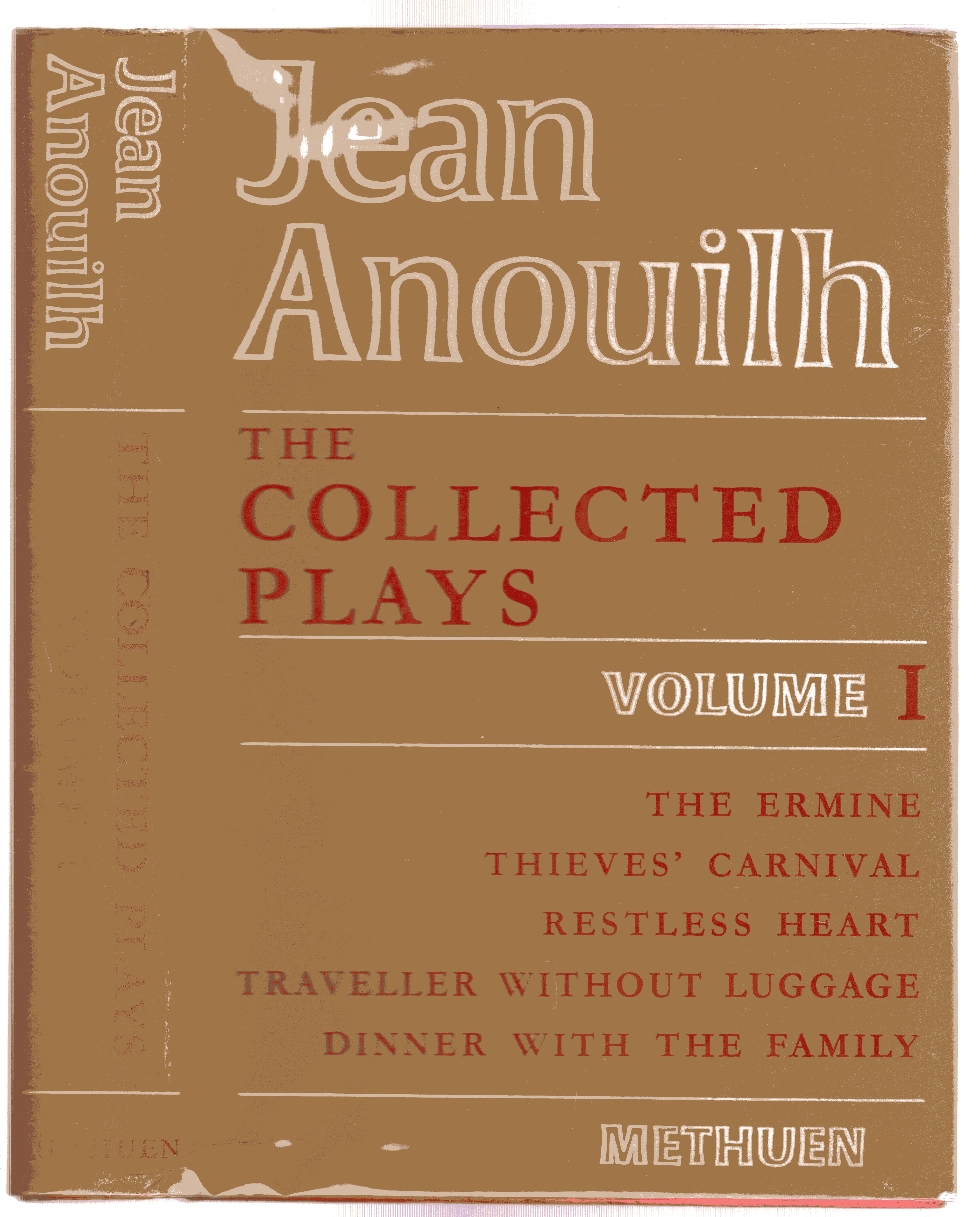 Image for The Collected Plays Volume I