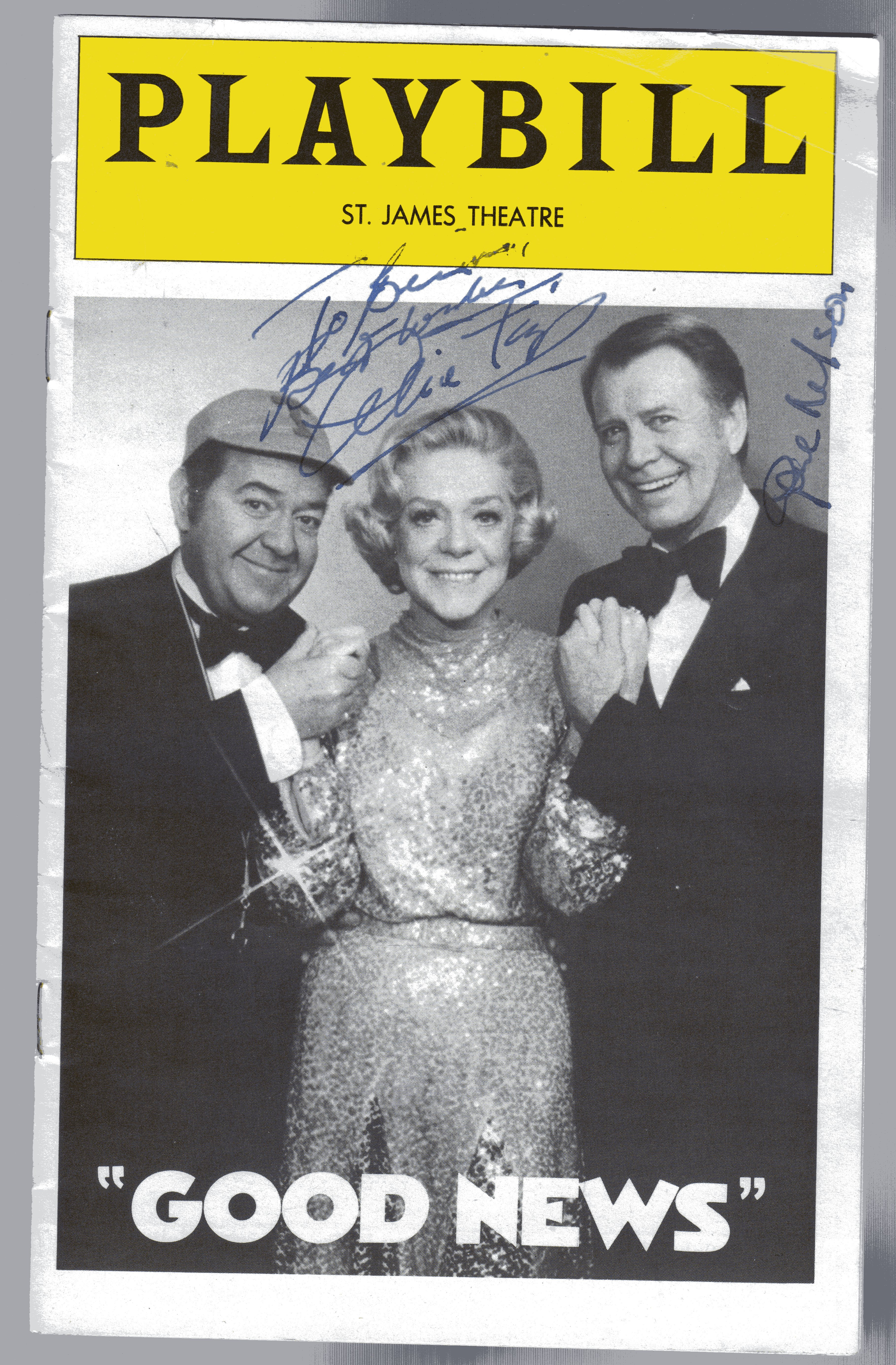 Image for Playbill  St James Theatre Programme  for Good News Signed By Alice Faye & Gene Nelson