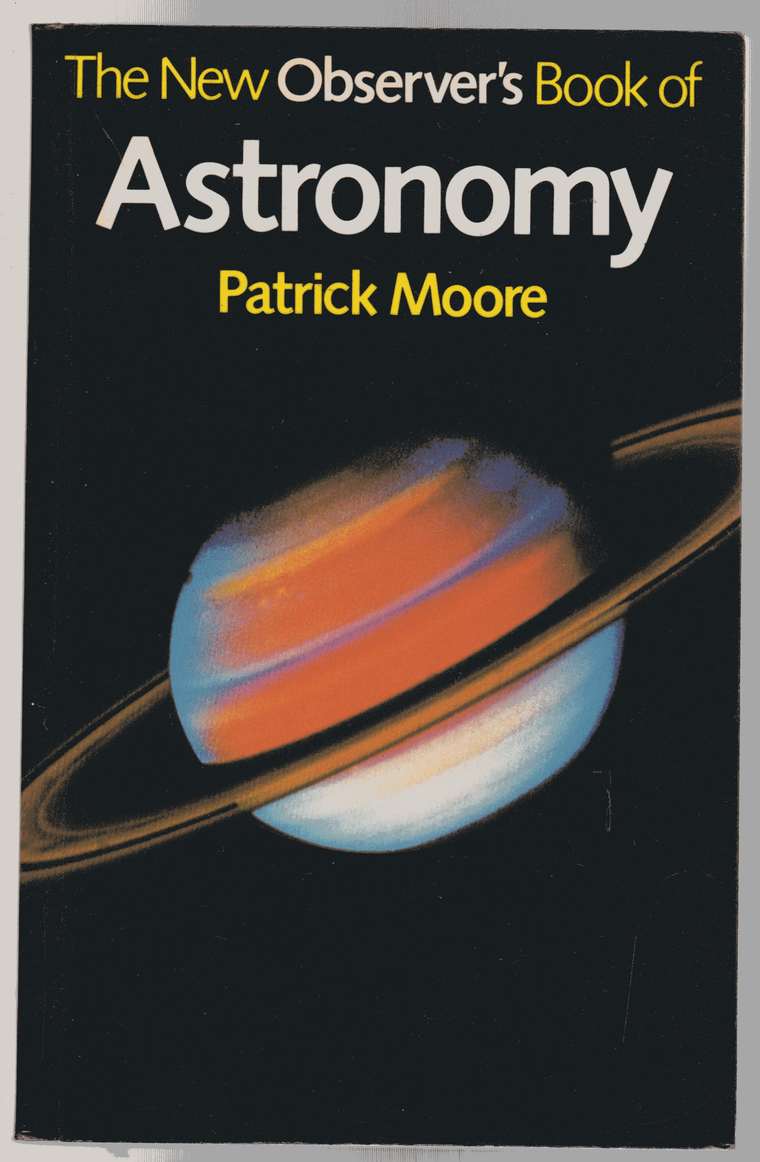 Image for The New Observer's Book of Astronomy