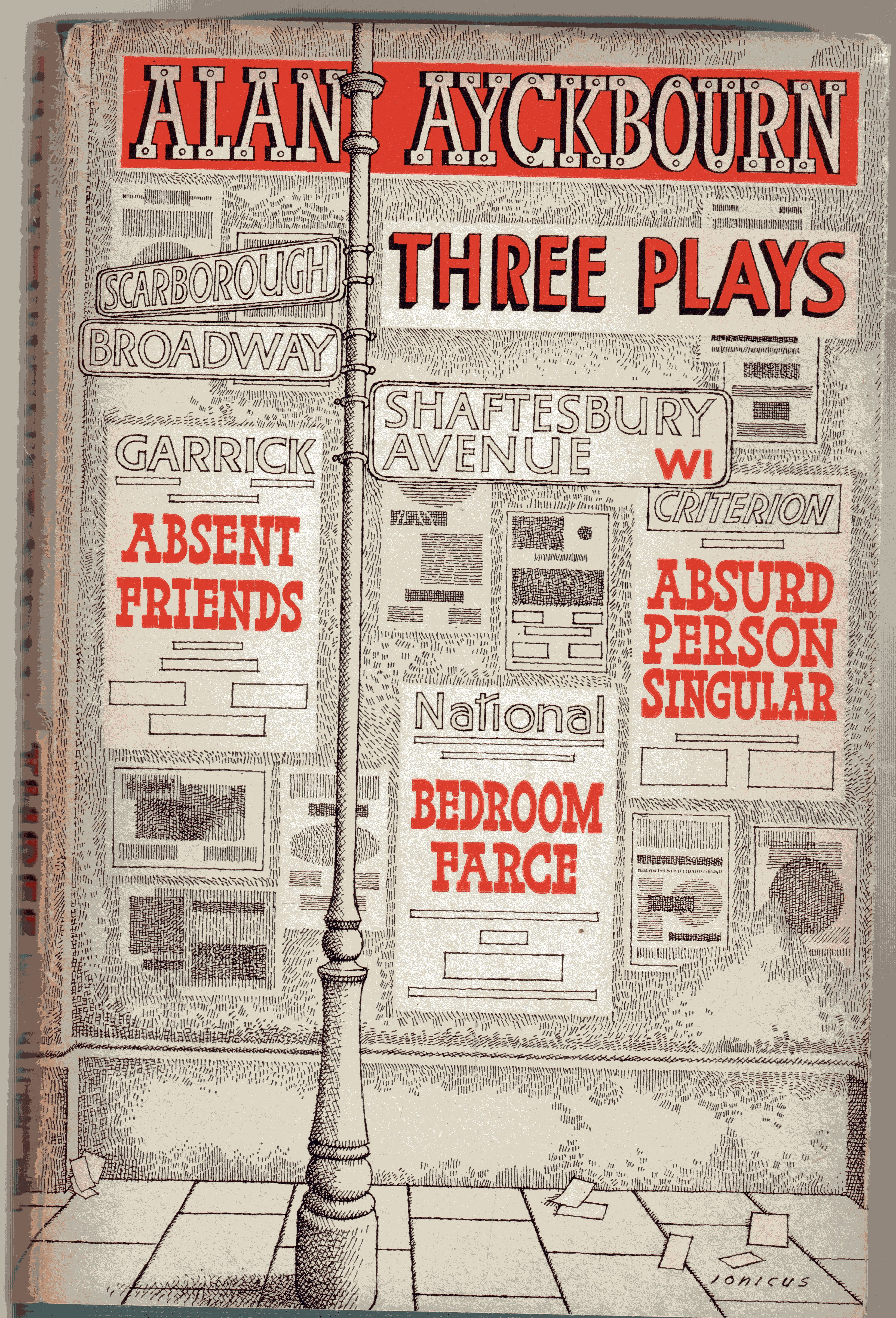 Image for Three Plays : Bedroom Farce, Absent Friends, Absurd Person Singular