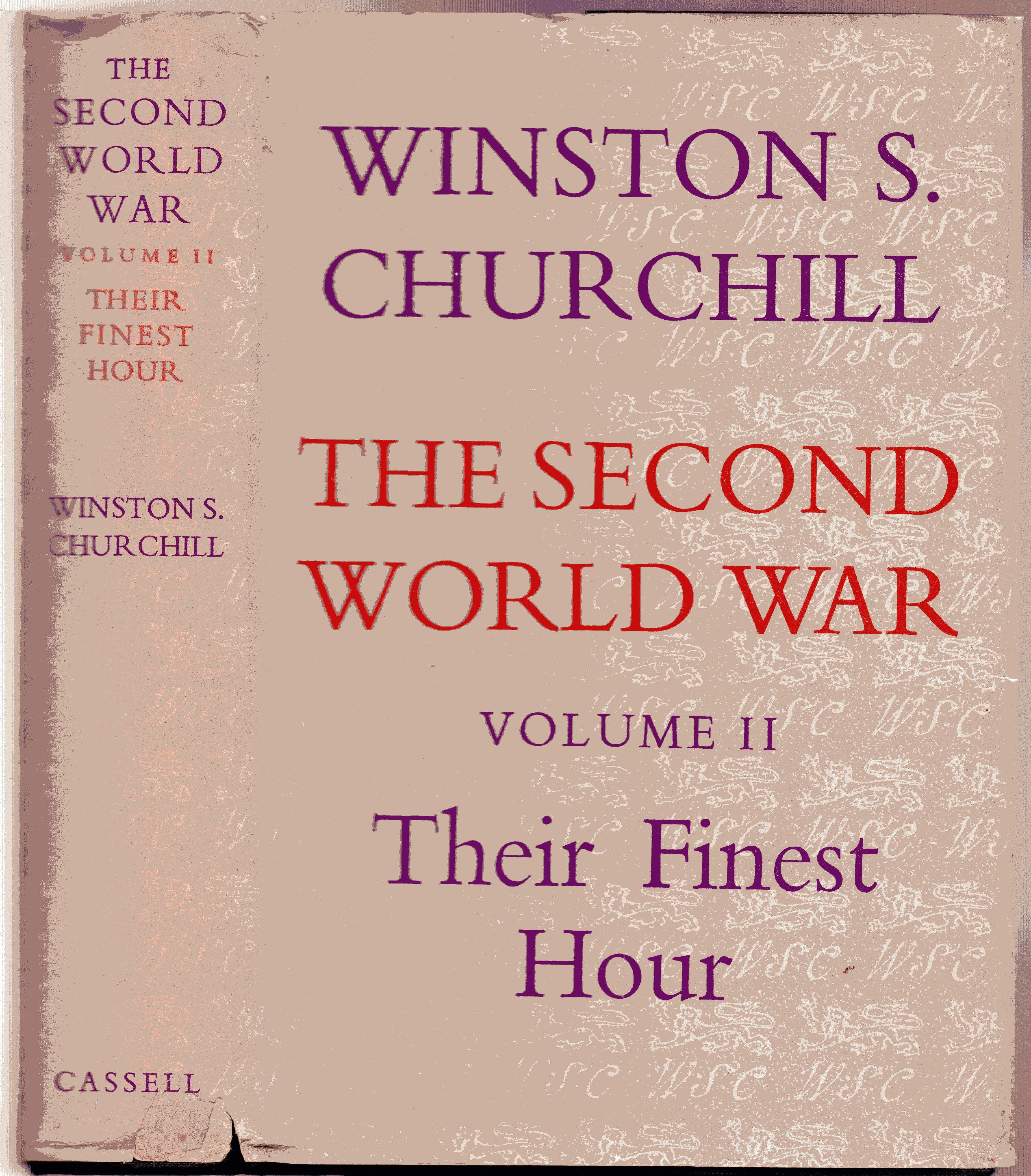 Image for The Second World War - Volume II - Their Finest Hour