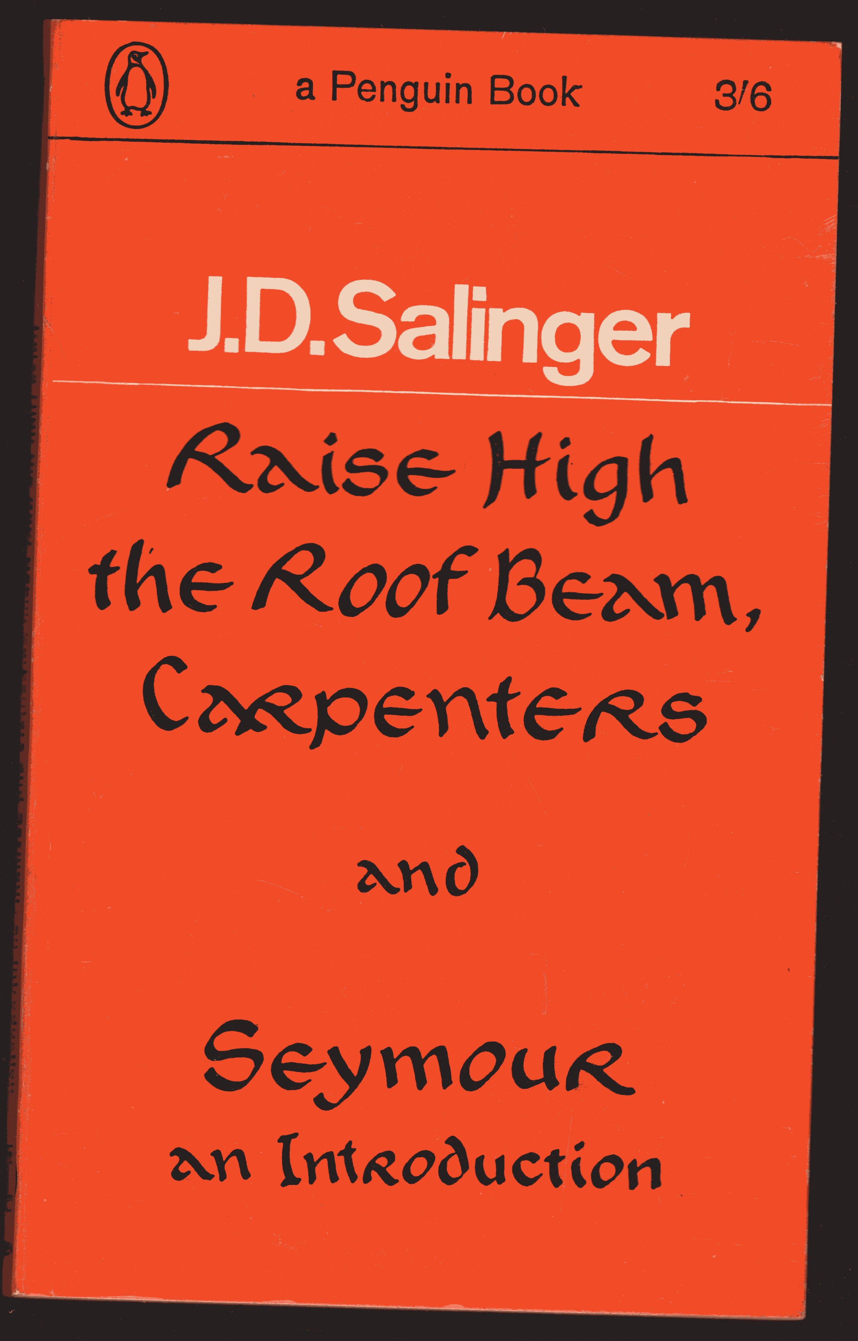 Image for Raise High the Roof Beam, Carpenters:  Seymour  an Instroduction