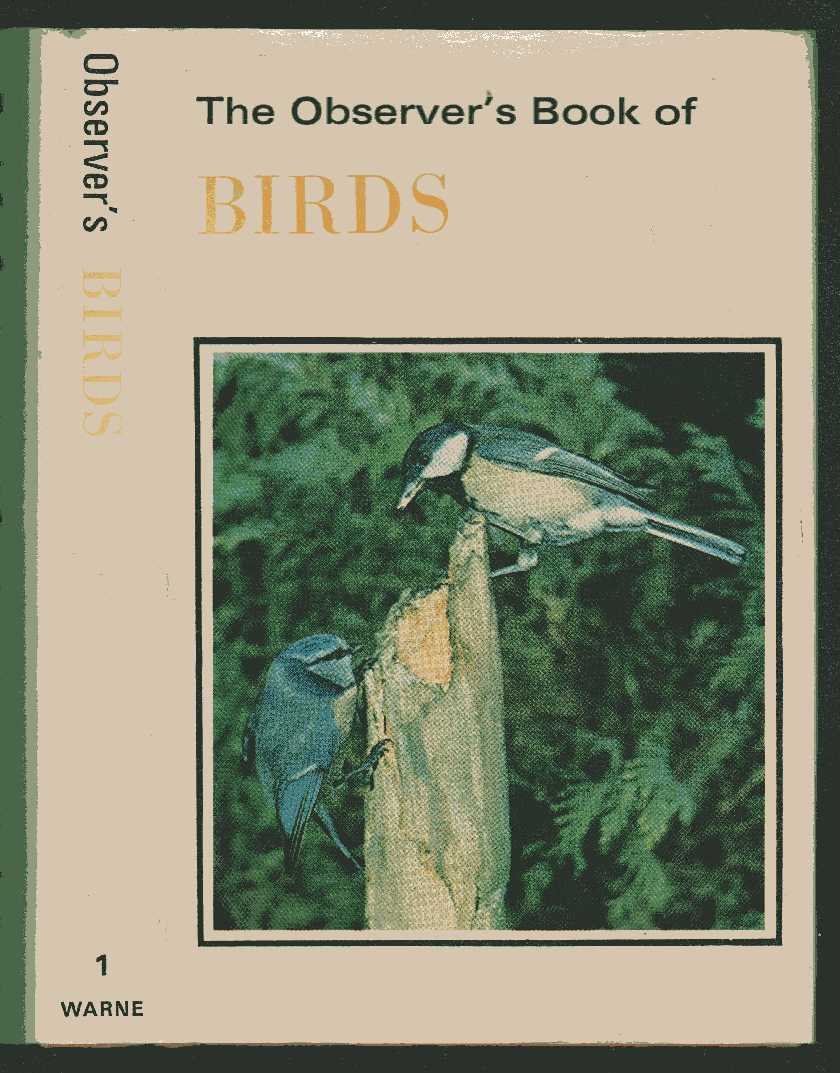 Image for The Observer's Book of Birds