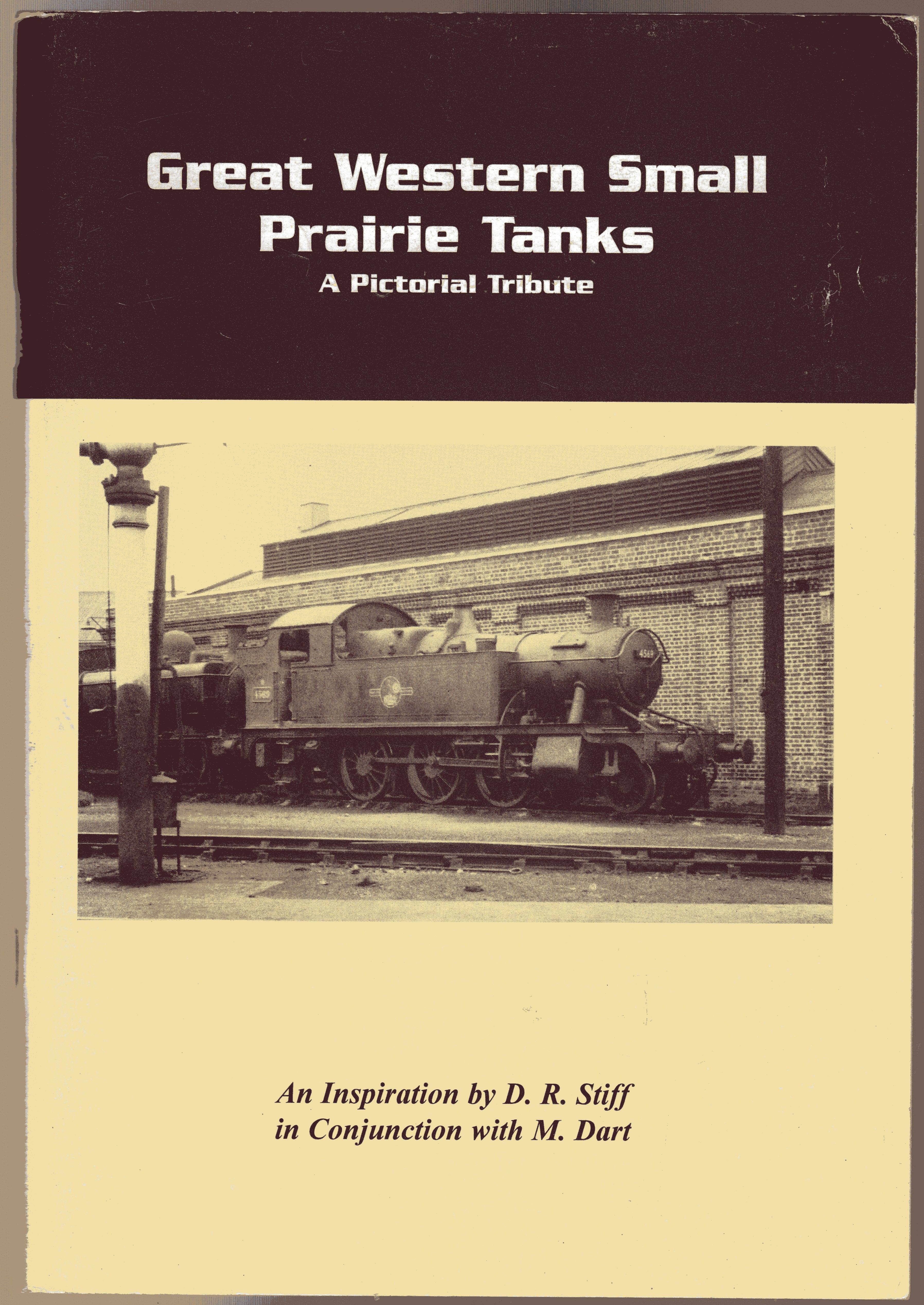 Image for Great Western Small Prairie Tanks : A Pictorial Tribute (SIGNED COPY)