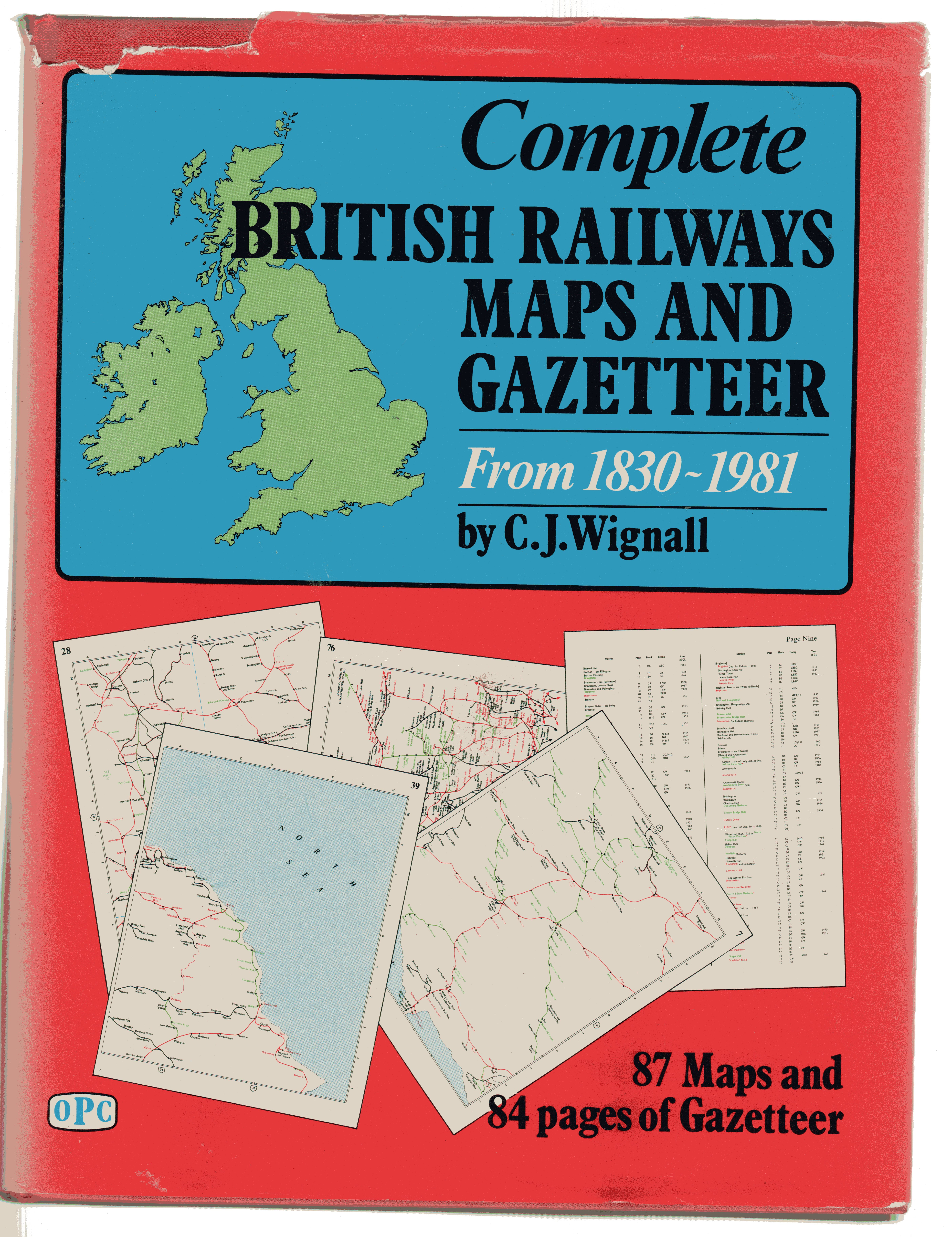 Image for Complete British Railways Maps and Gazetteer from 1830 to 1981
