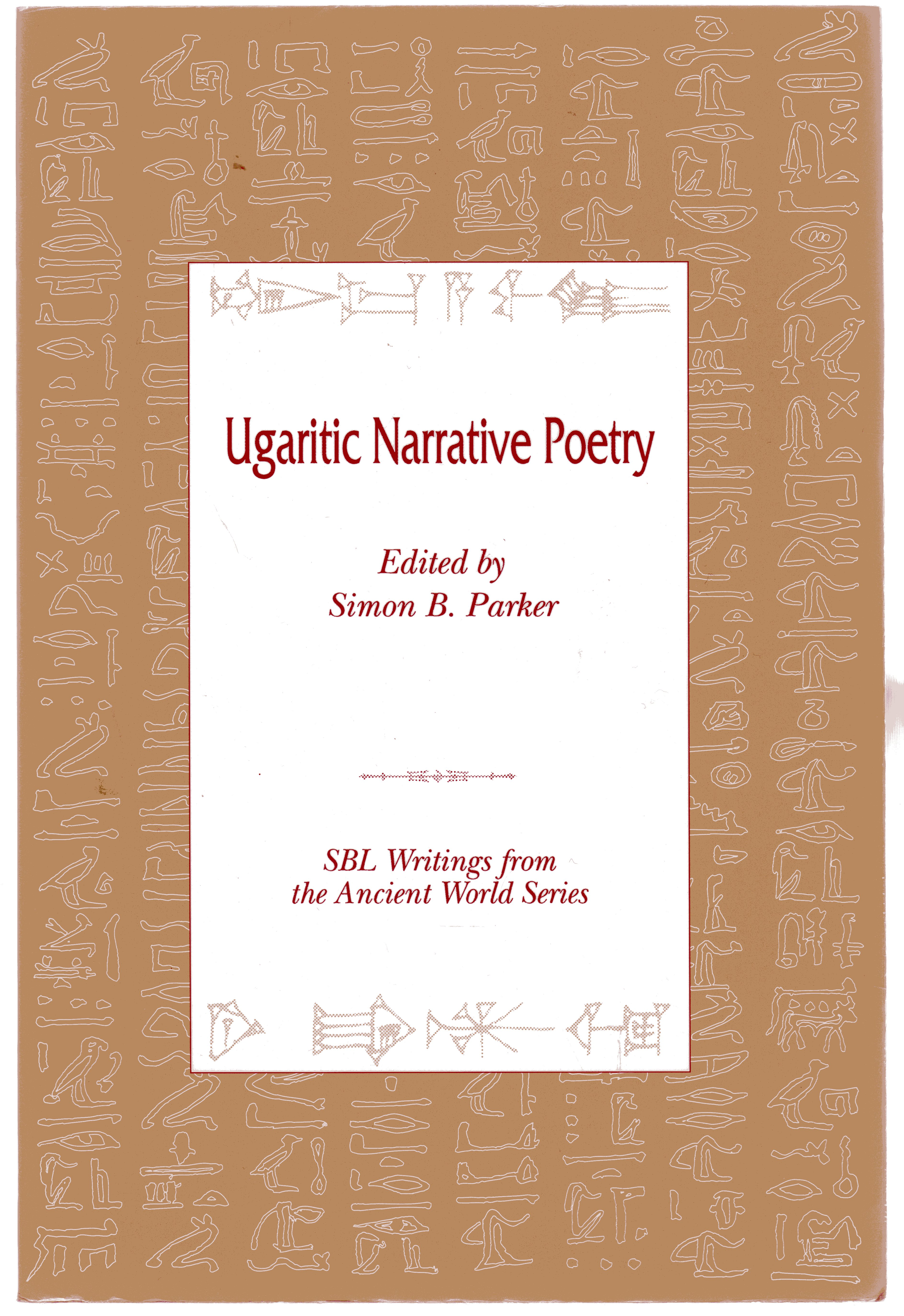 Image for Ugaritic Narrative Poetry