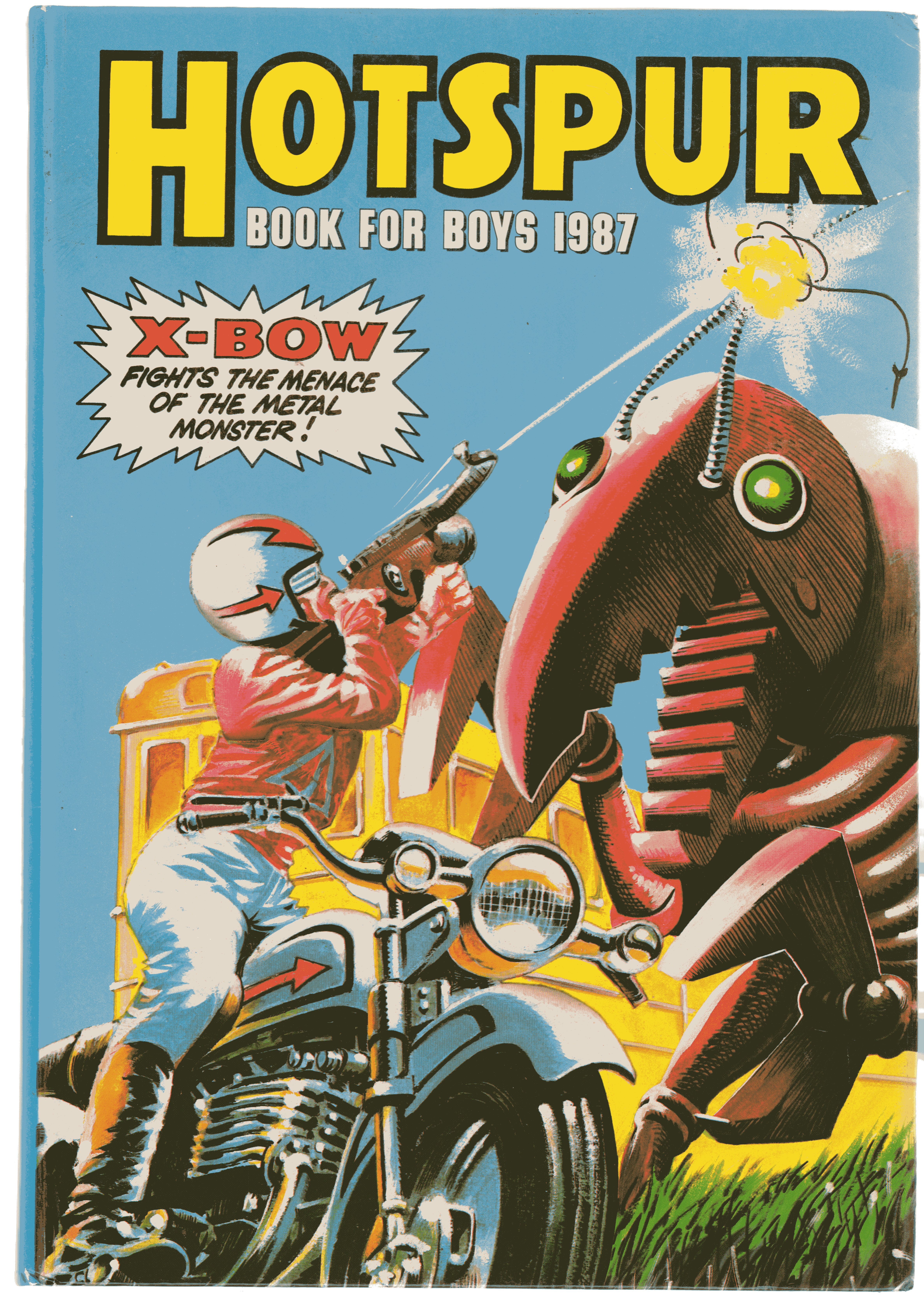 Image for Hotspur Book for Boys 1987