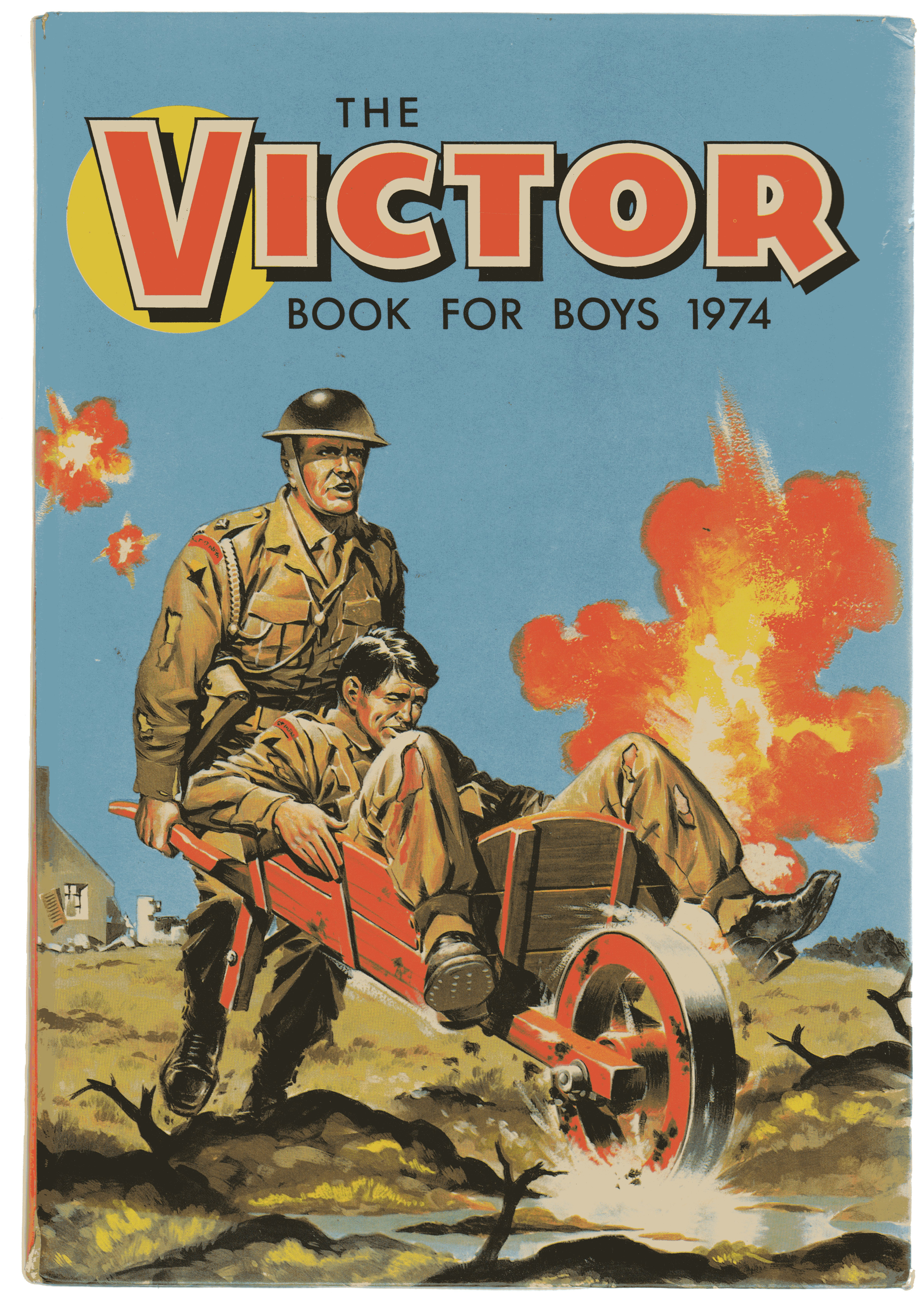 Image for The Victor Book for Boys 1974