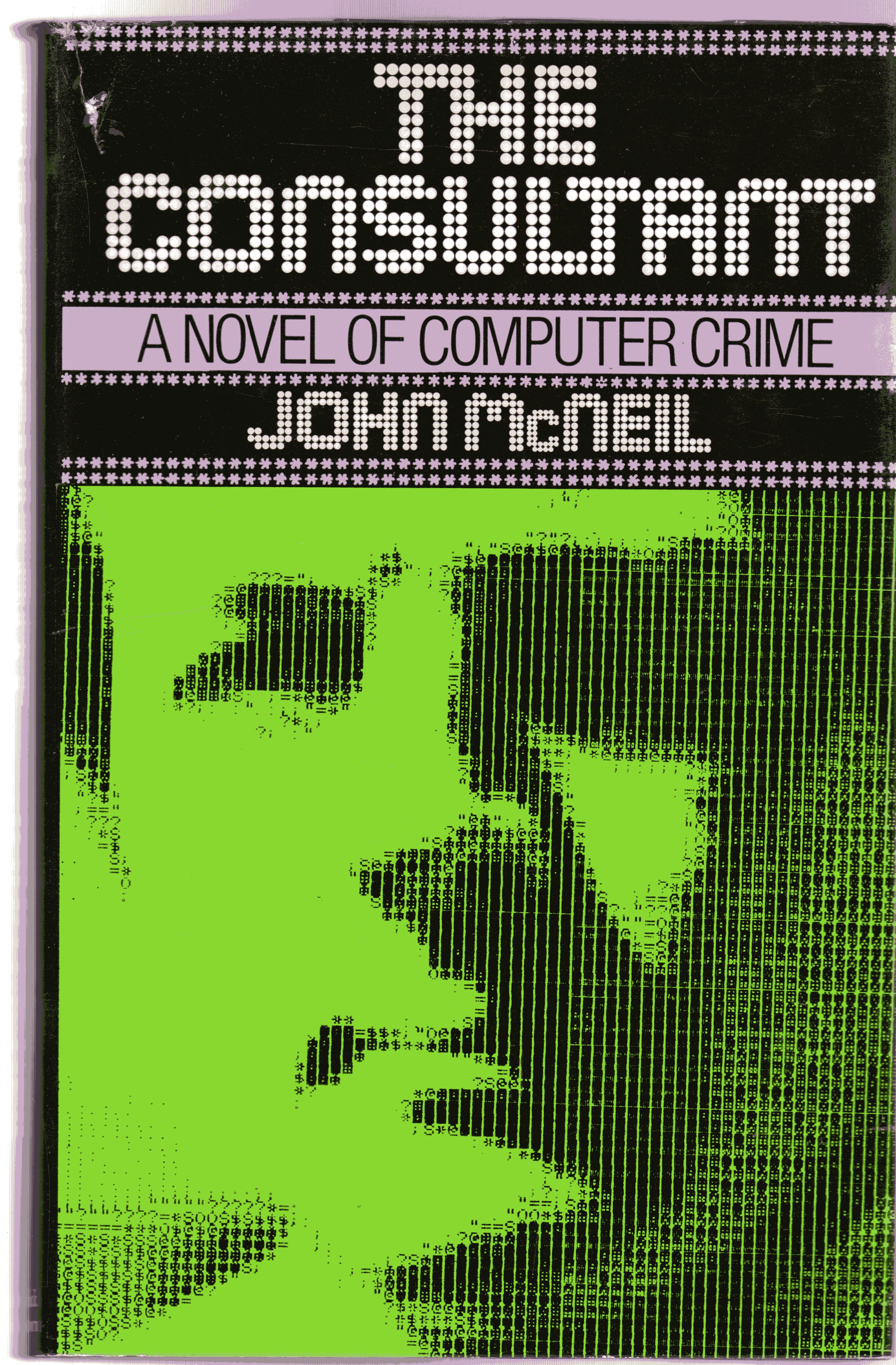 Image for The Consultant : A Novel of Computer Crime