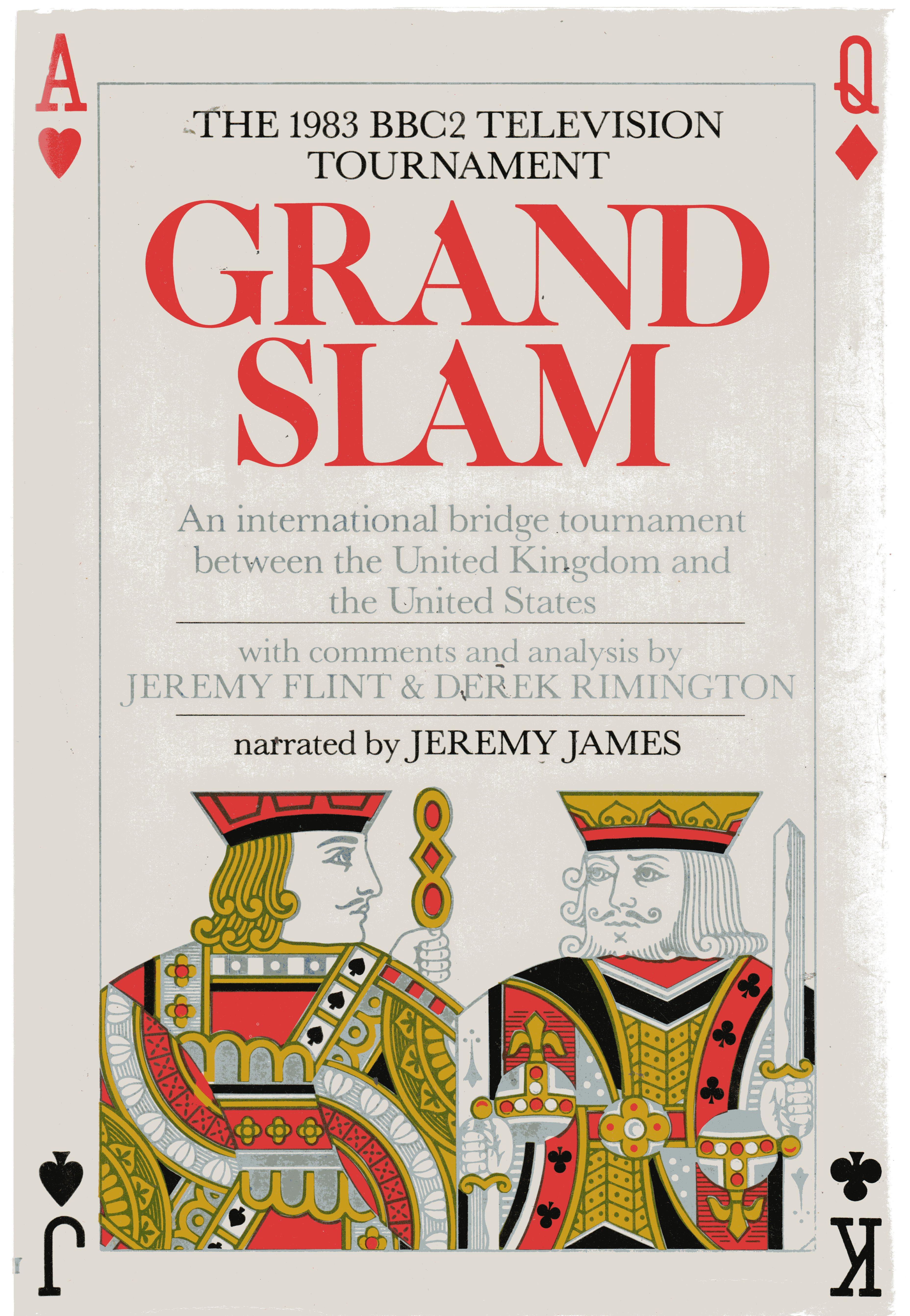 Image for Grand Slam : An International Bridge Tournament Between the United Kingdom and the United States
