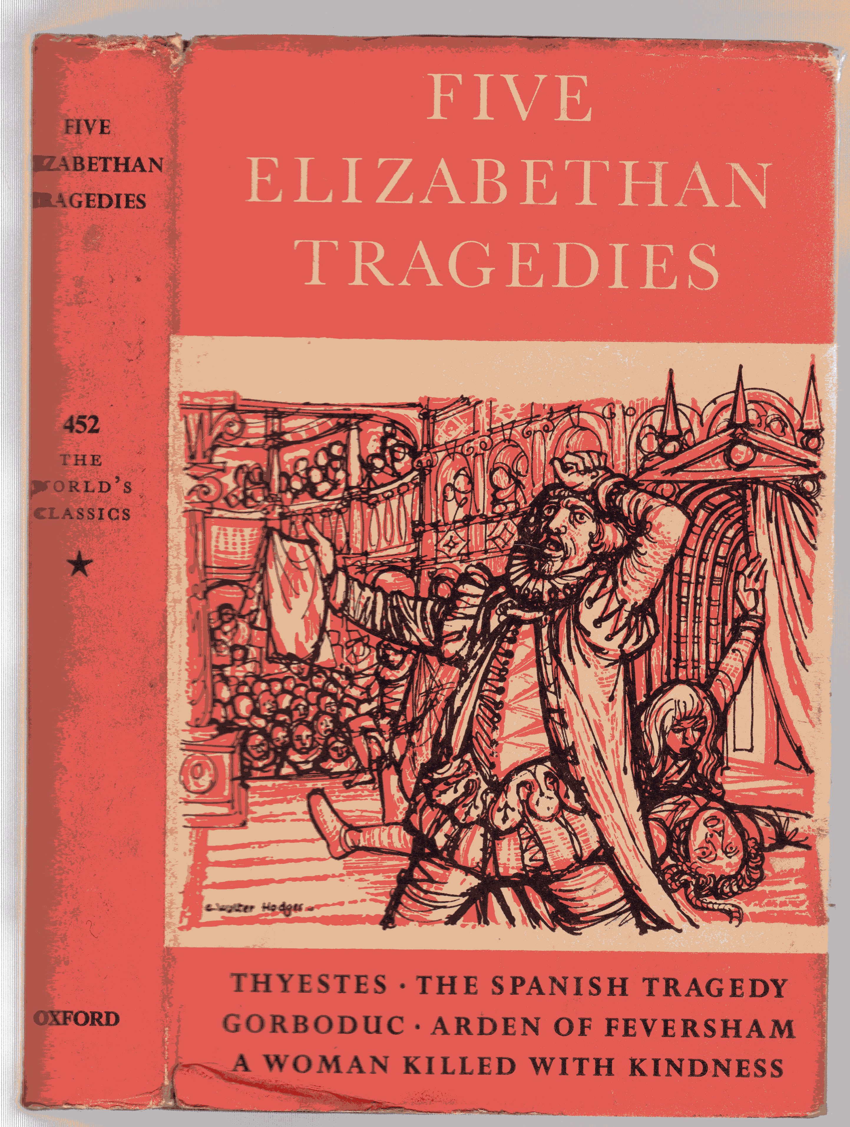 Image for Five Elizabethan Tragedies (The World's Classics 452)