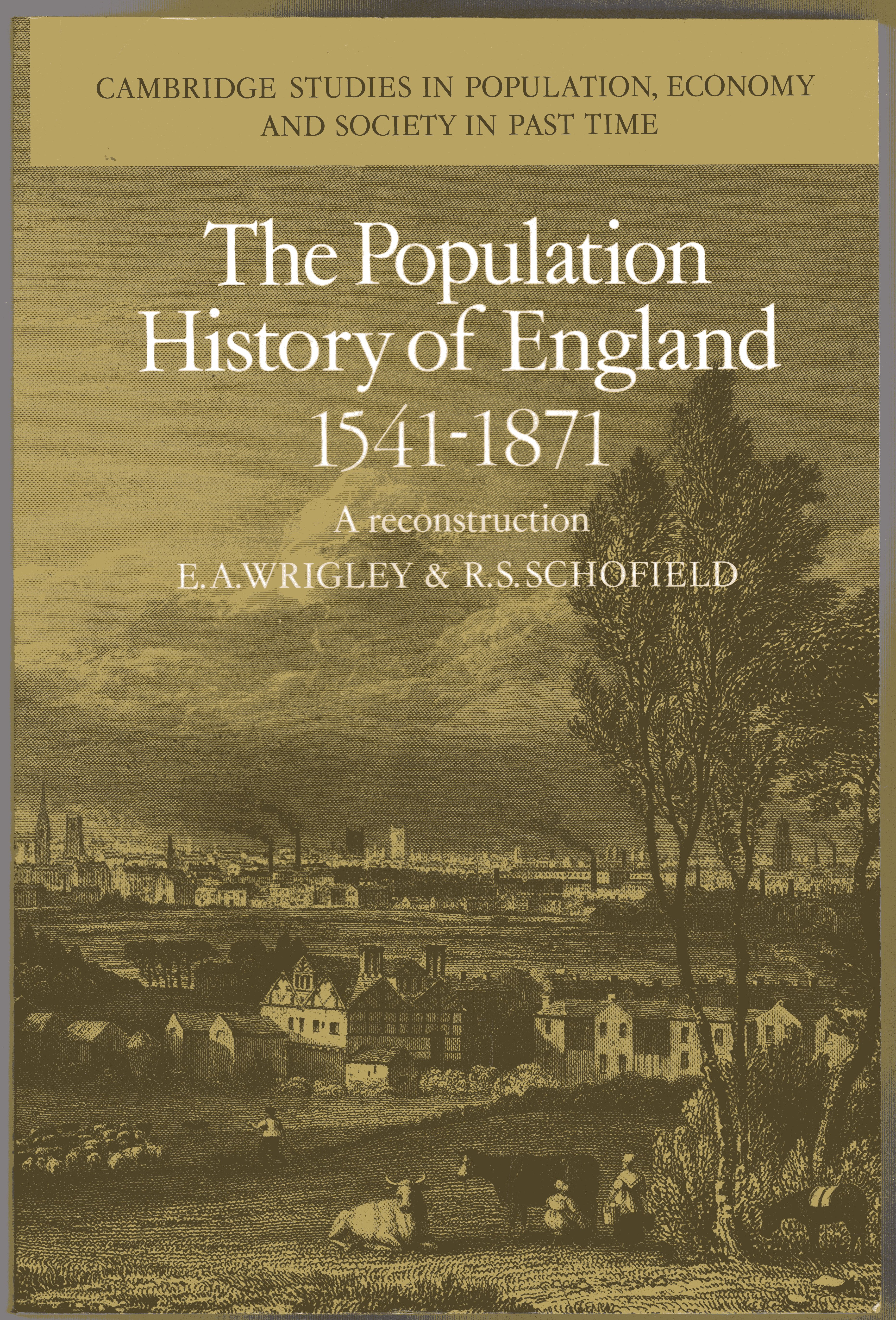 Image for The Population History of England 1541-1871: A Reconstruction