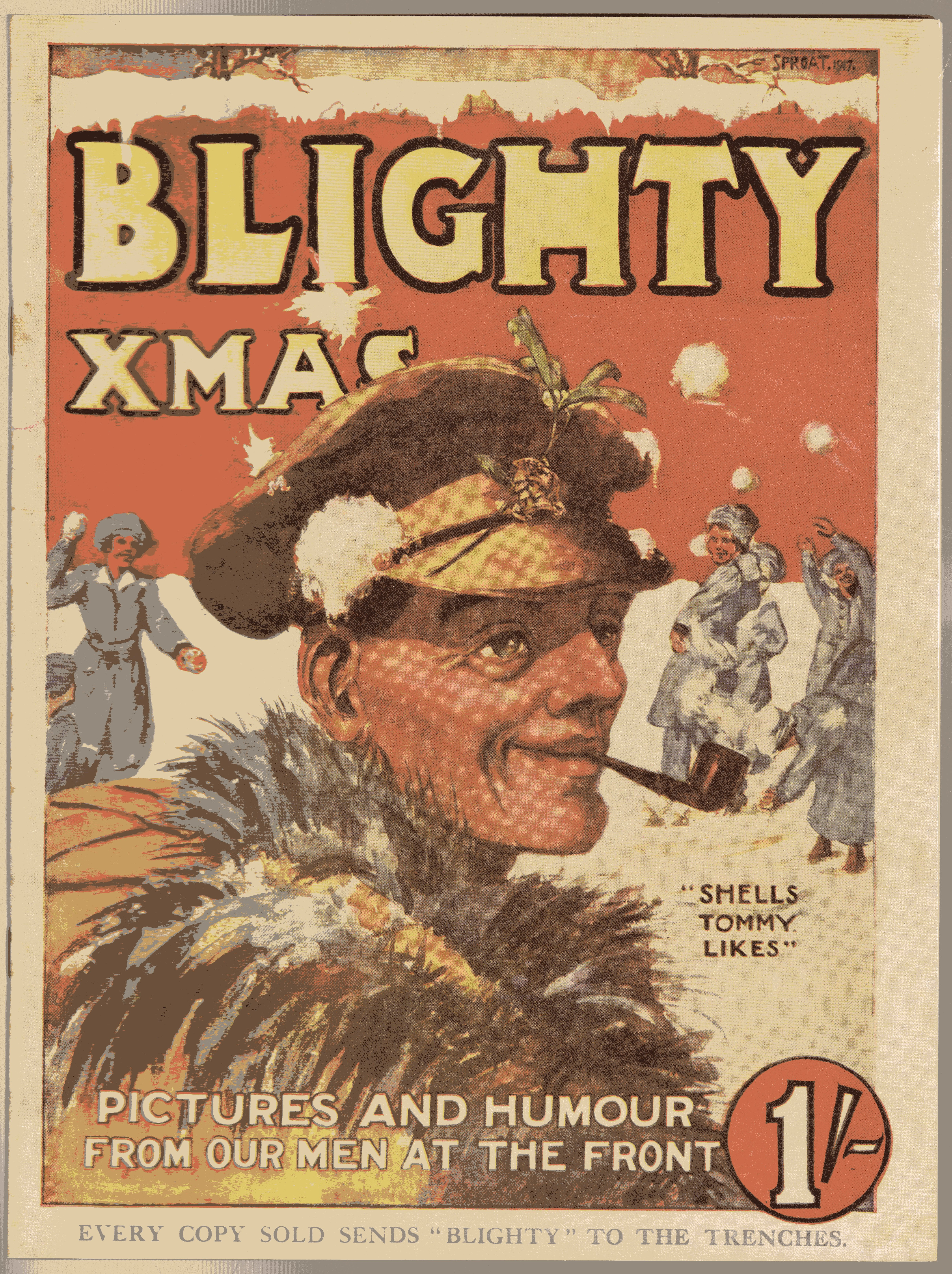 Image for Blighty Christmas 1917 [Xmas]