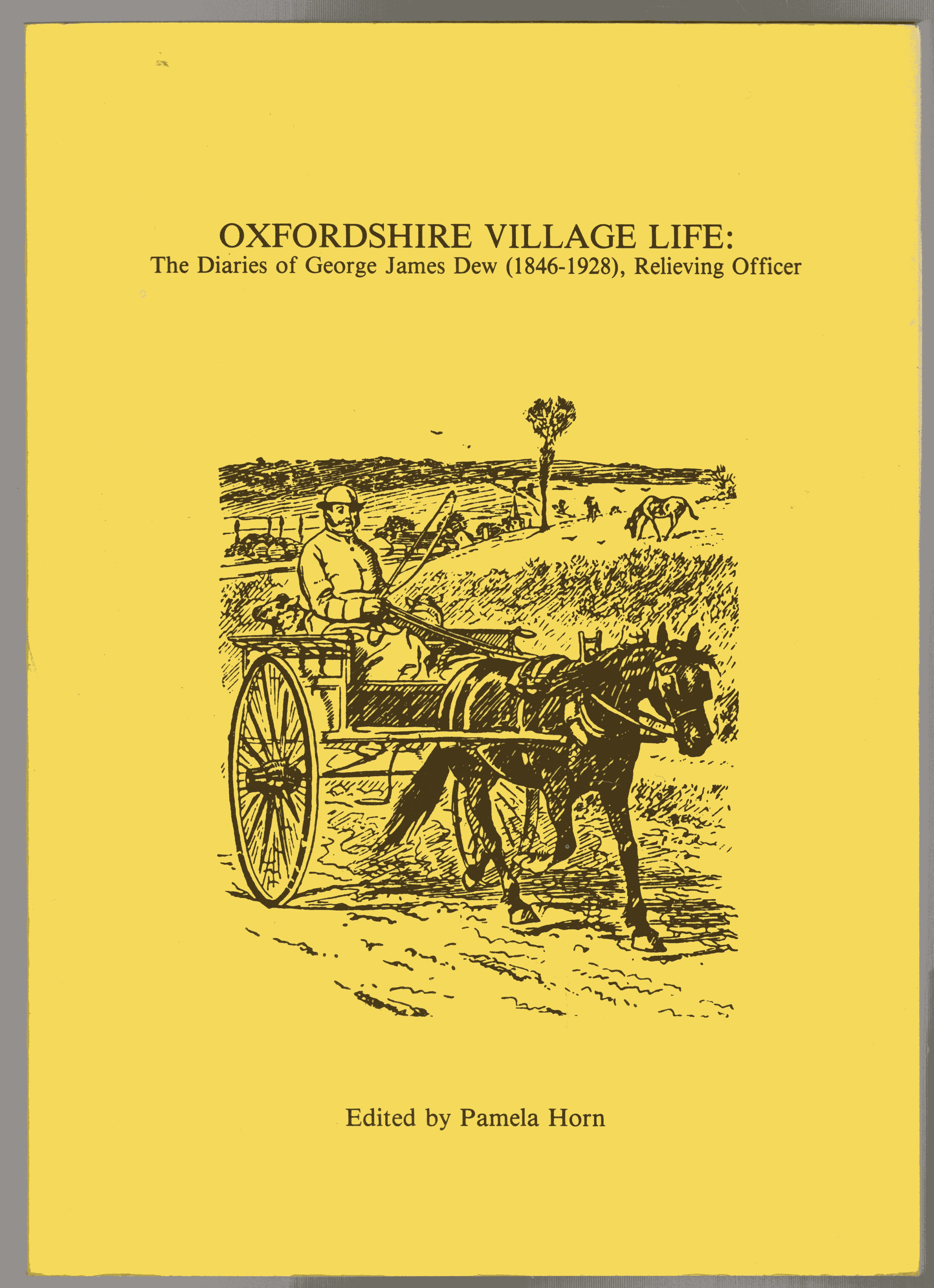 Image for Oxfordshire Village Life : The Diaries of George James Dew (1846--1925)