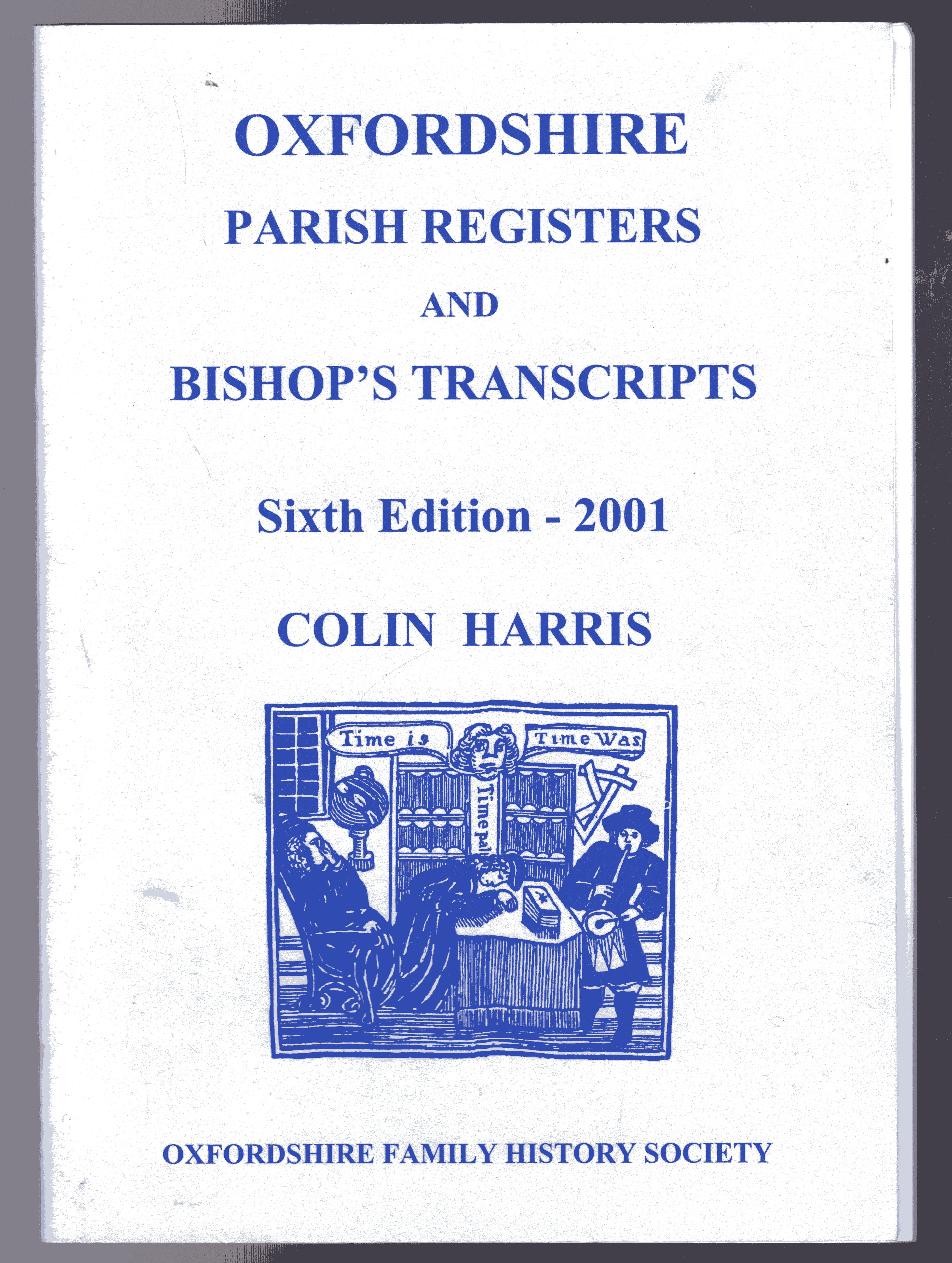 Image for Oxfordshire Parish Registers and Bishops' Transcripts