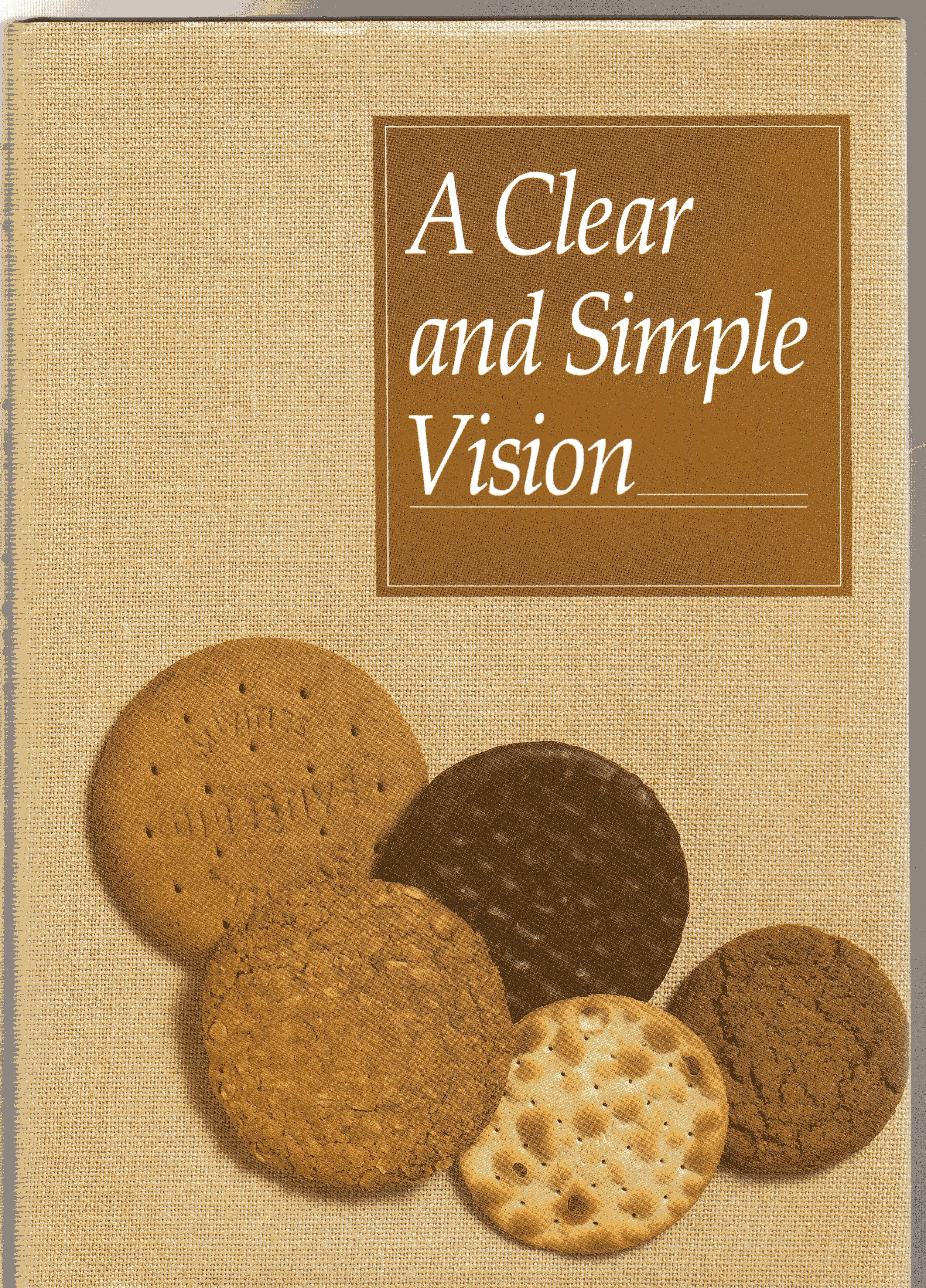 Image for A Clear and Simple Vision