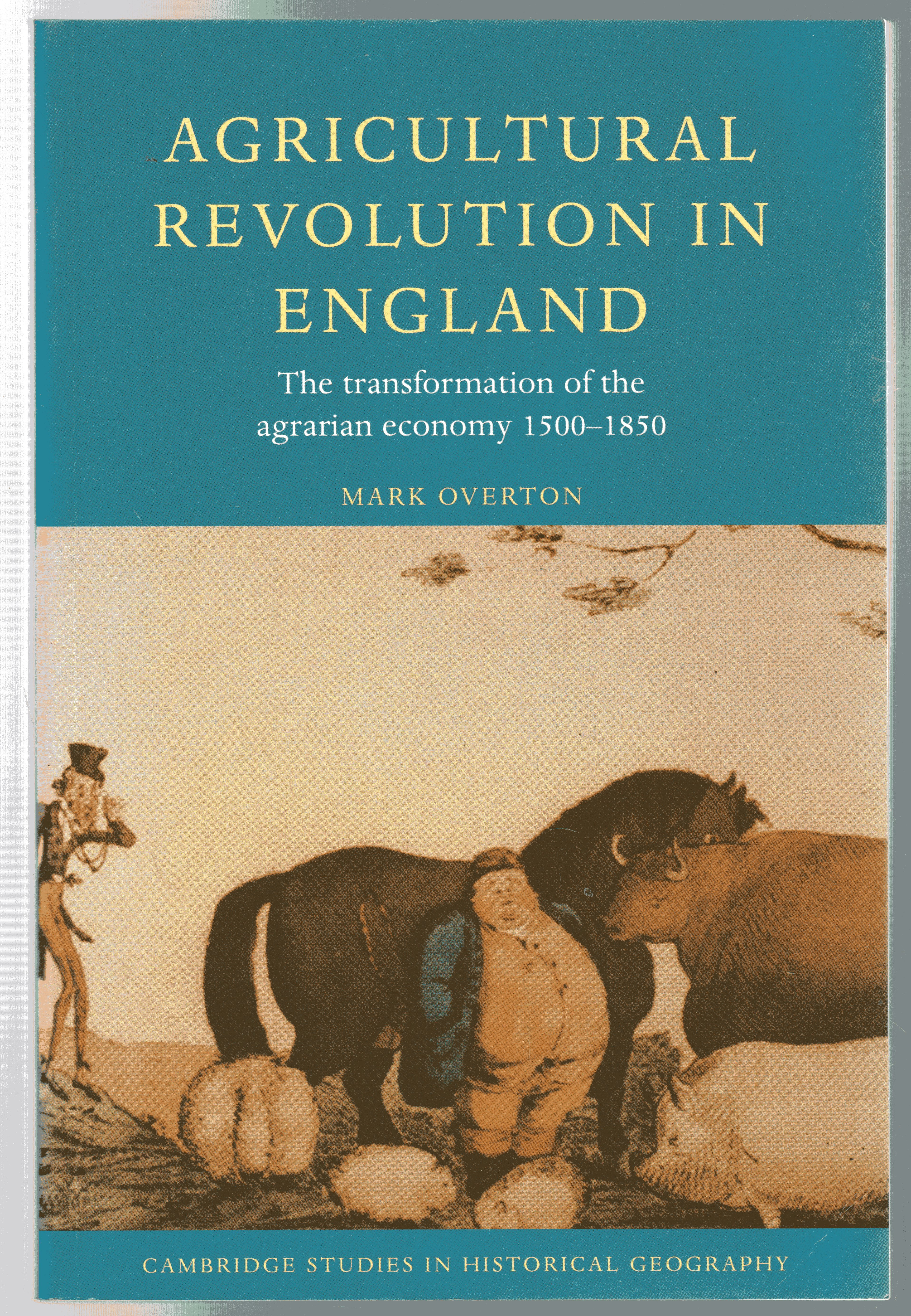 Image for Agricultural Revolution in England : The Transformation of the Agrarian Economy 1500-1850